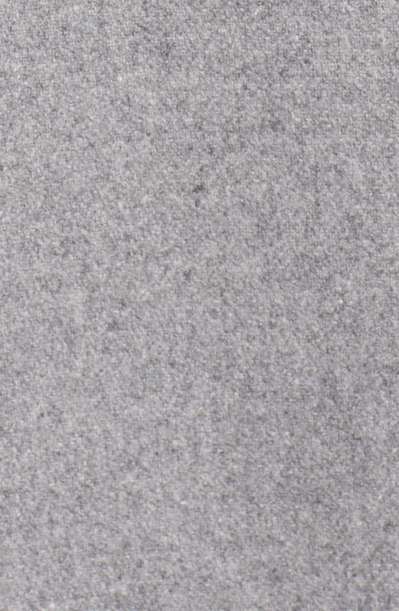 Alternate Image 5  - Ted Baker London Wool Blend Asymmetrical Skirted Coat
