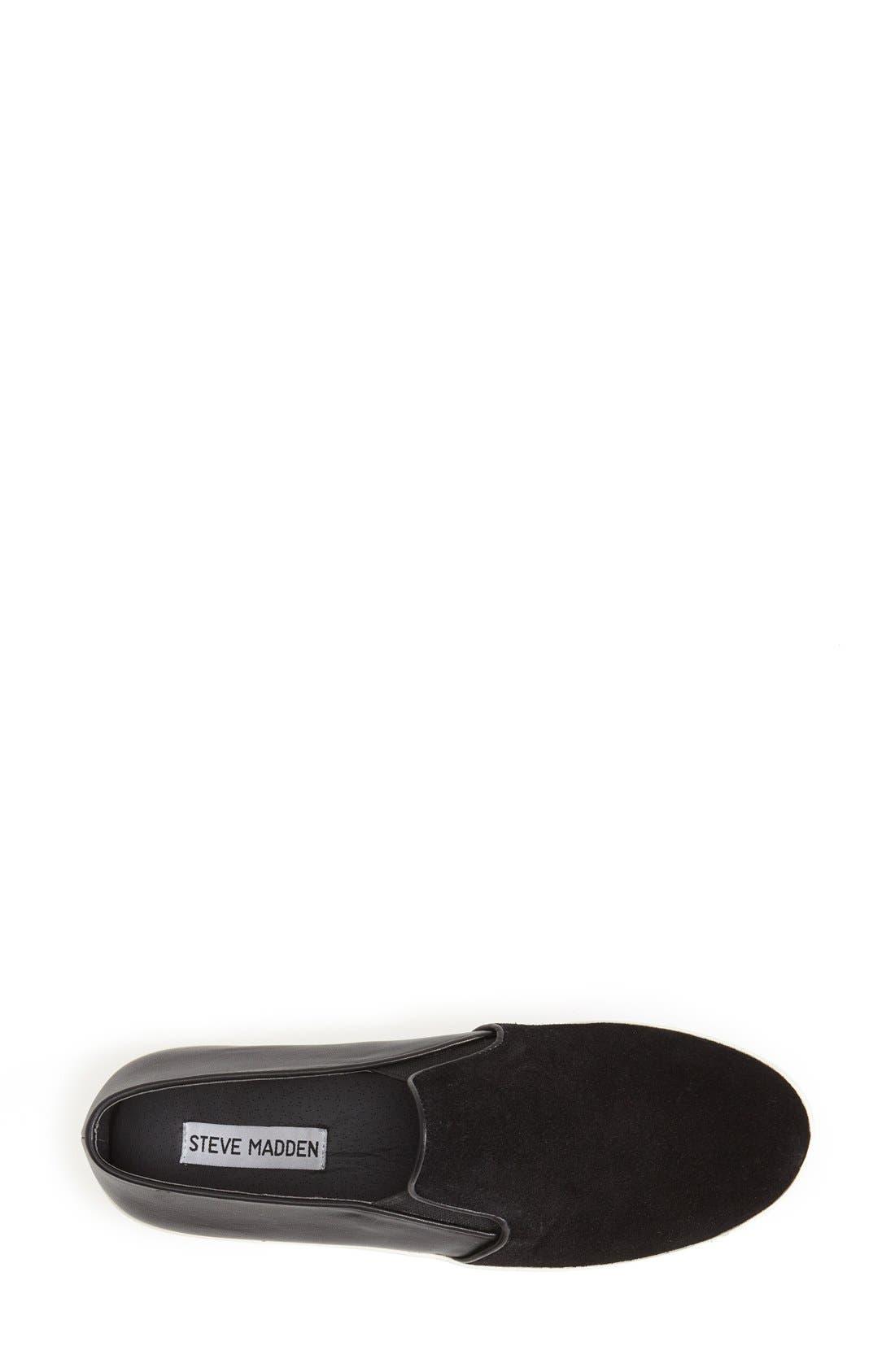 Alternate Image 3  - Steve Madden 'Buhba' Slip-On Sneaker (Women)