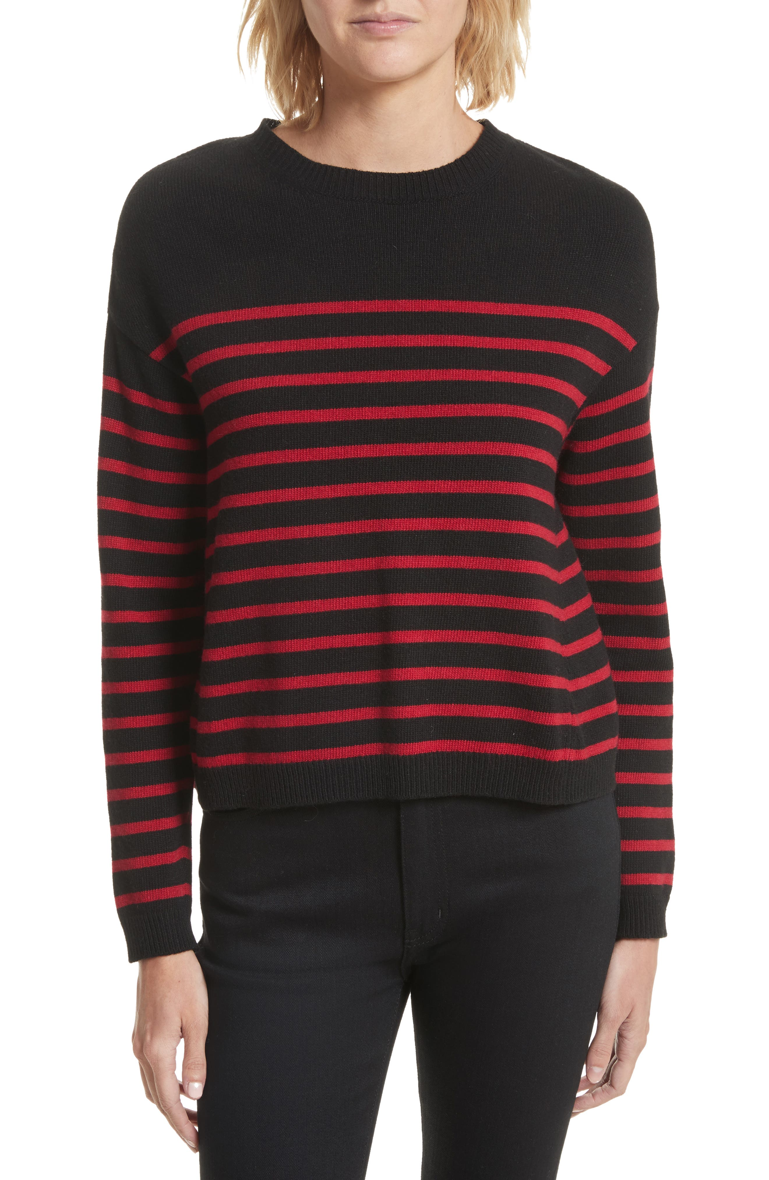 Main Image - RED Valentino Embroidered Star Sweater