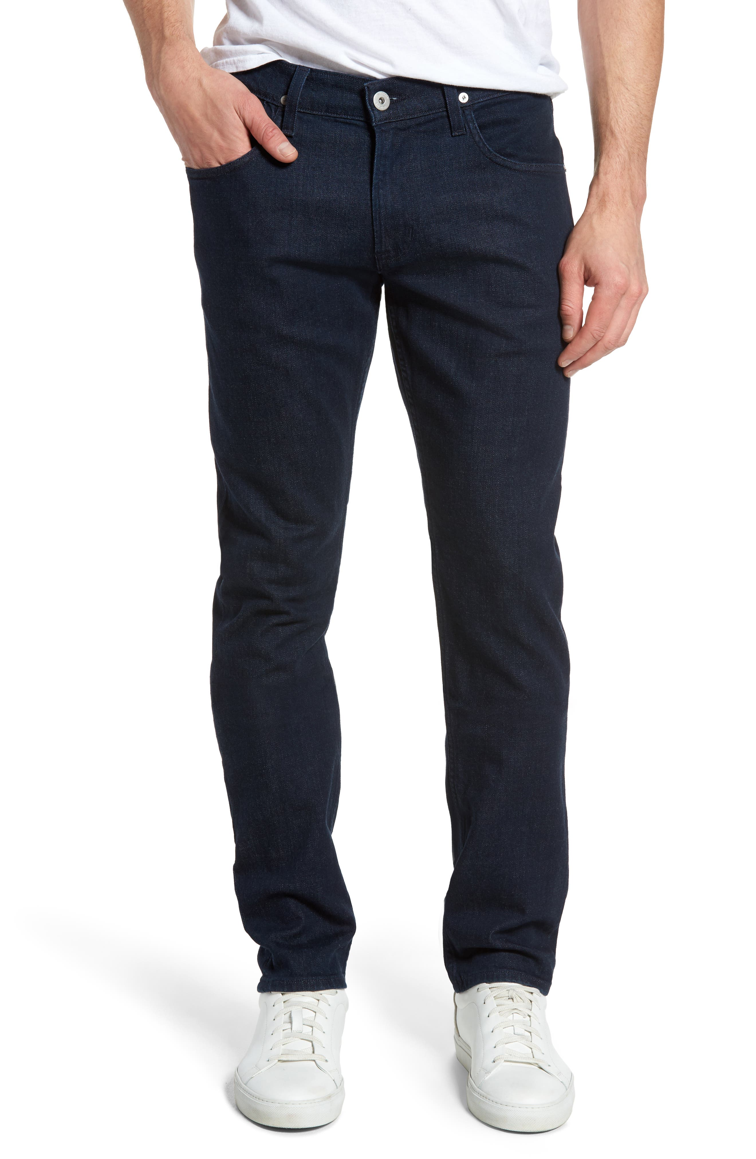 Blake Slim Fit Jeans,                         Main,                         color, Firebrand