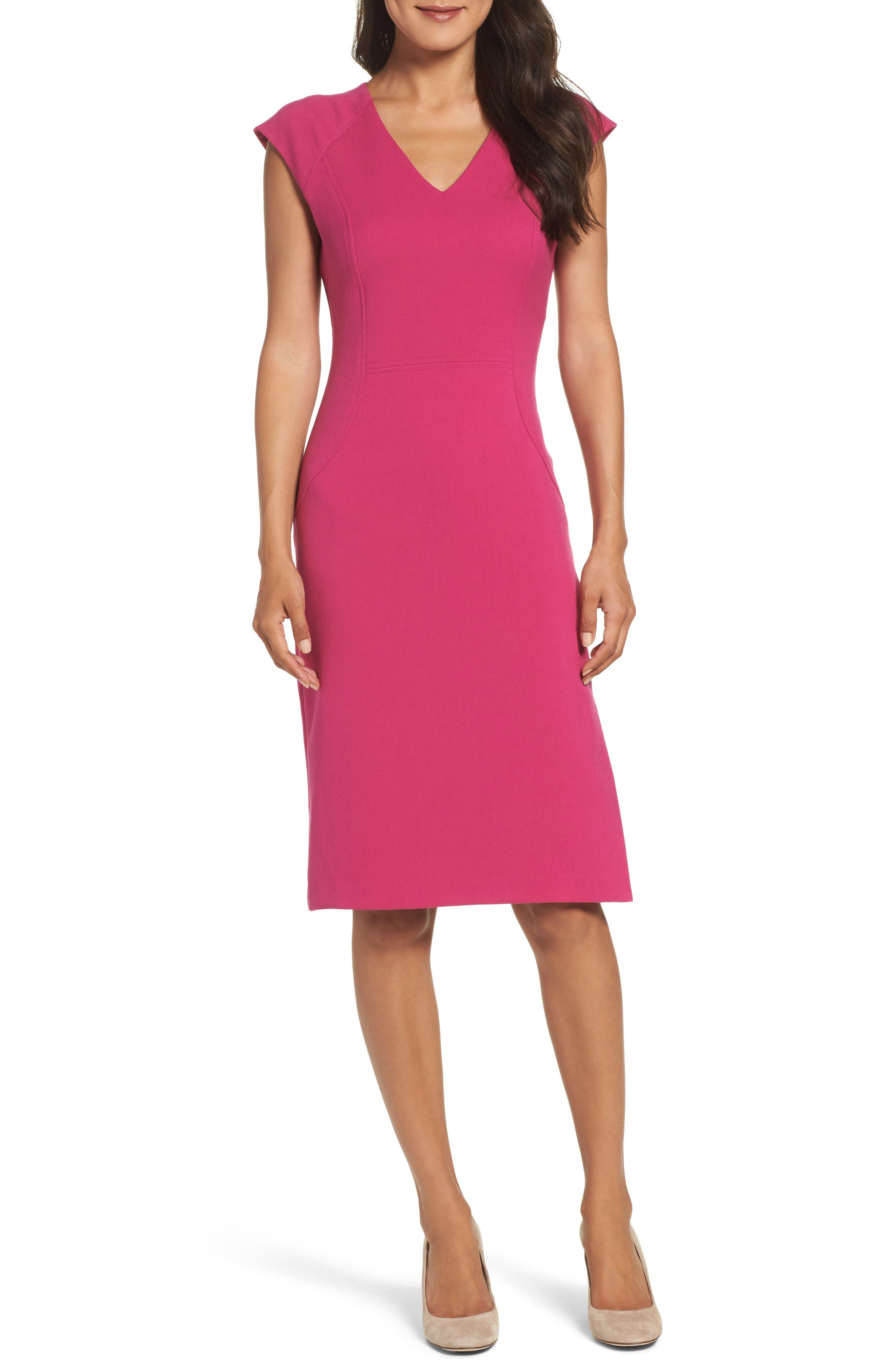 Alternate Image 1 Selected - Vince Camuto Body-Con Dress