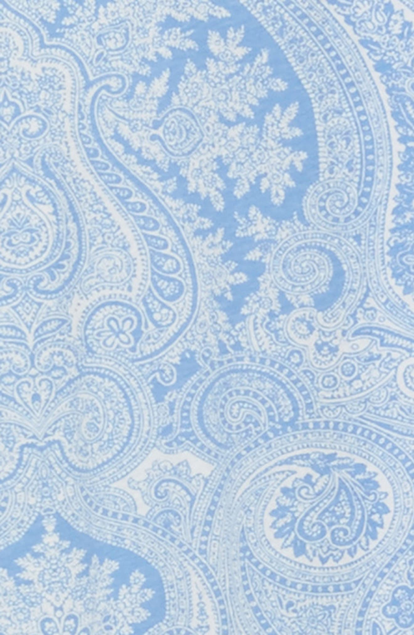 Alternate Image 6  - Lauren Ralph Lauren Knit Crop Pajamas (Plus Size) (Online Only)