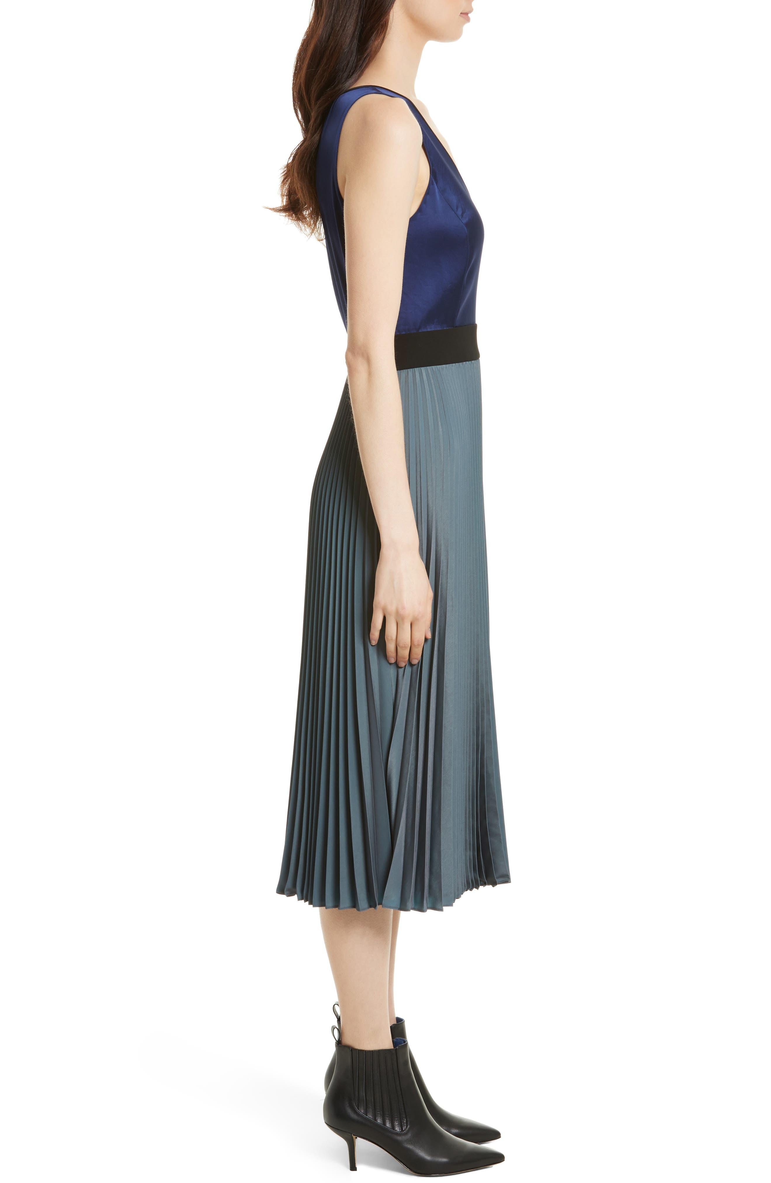Alternate Image 3  - Diane von Furstenberg V-Neck Pleated Wrap Dress