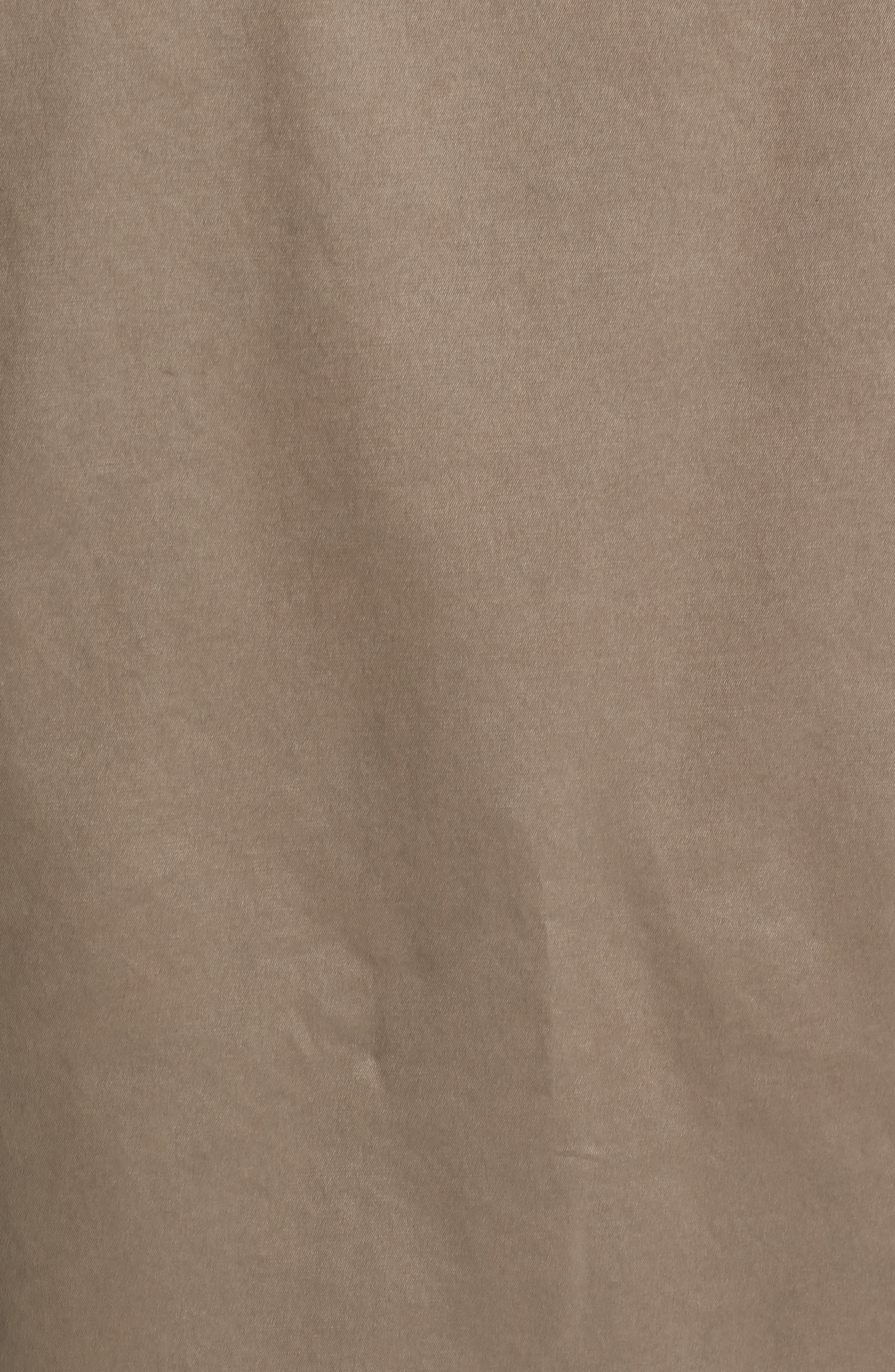 Parka with Genuine Fox Fur Trim,                             Alternate thumbnail 5, color,                             Sage