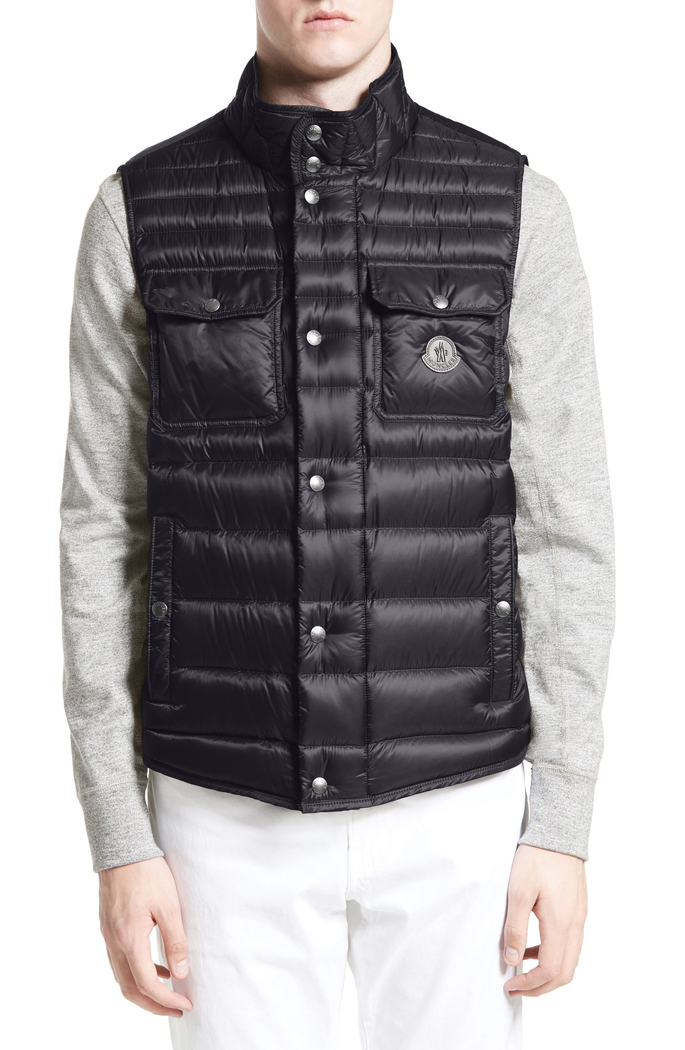 Ever Quilted Vest,                         Main,                         color, Navy