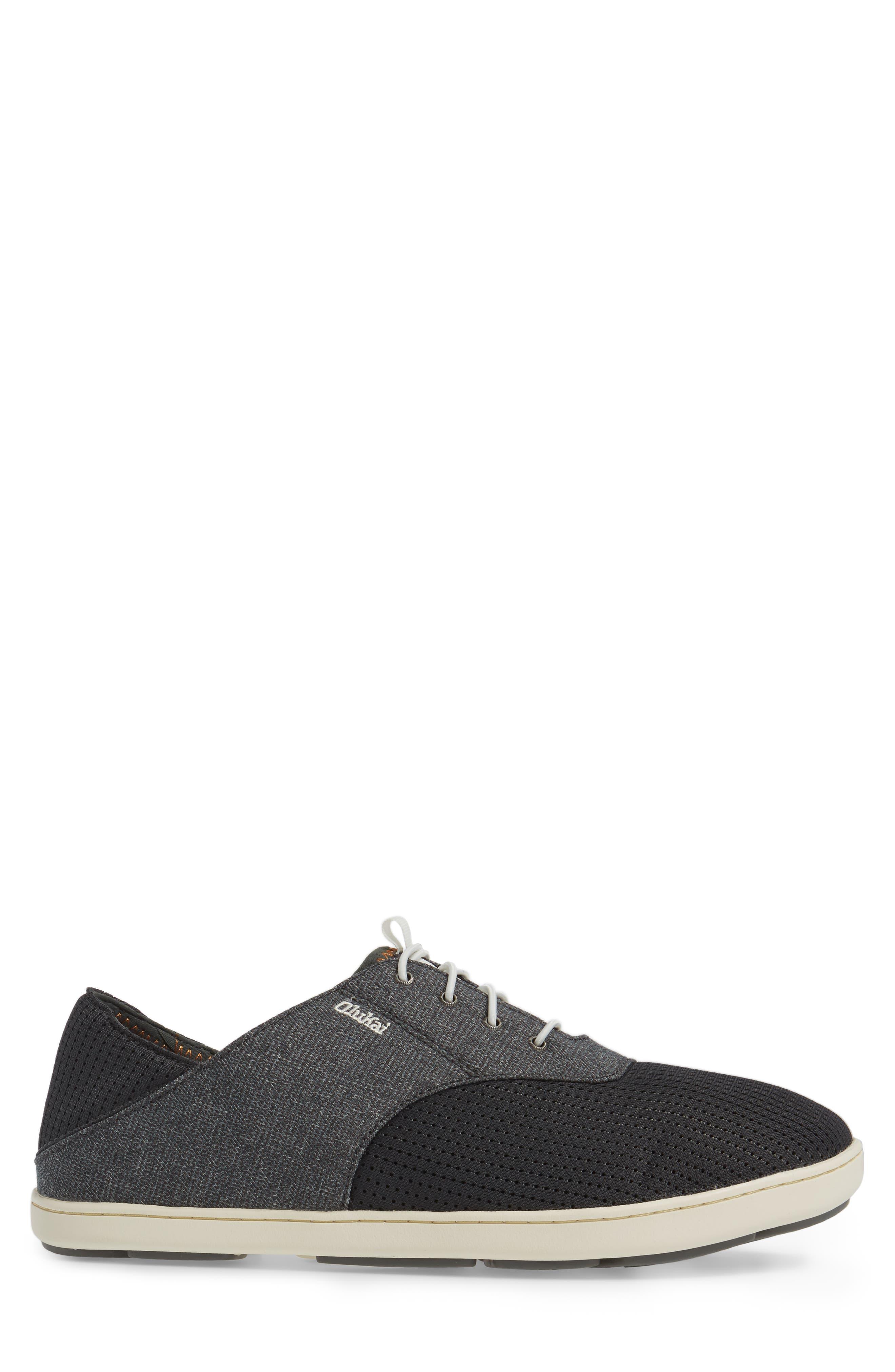 'Nohea Moku' Sneaker,                             Alternate thumbnail 3, color,                             Dark Shadow/ Dark Shadow