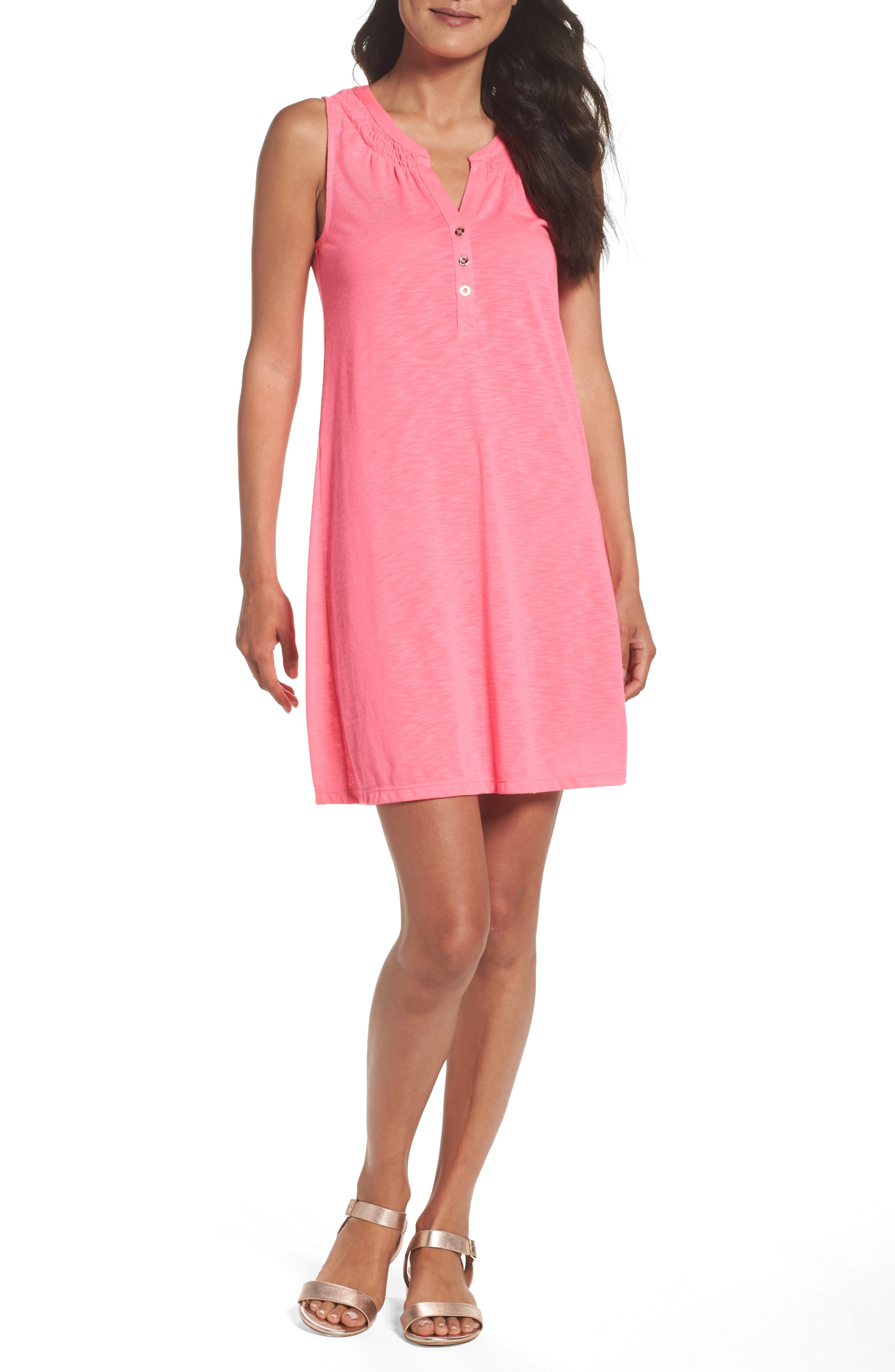 Alternate Image 1 Selected - Lilly Pulitzer® 'Essie' Cotton & Modal A-Line Dress