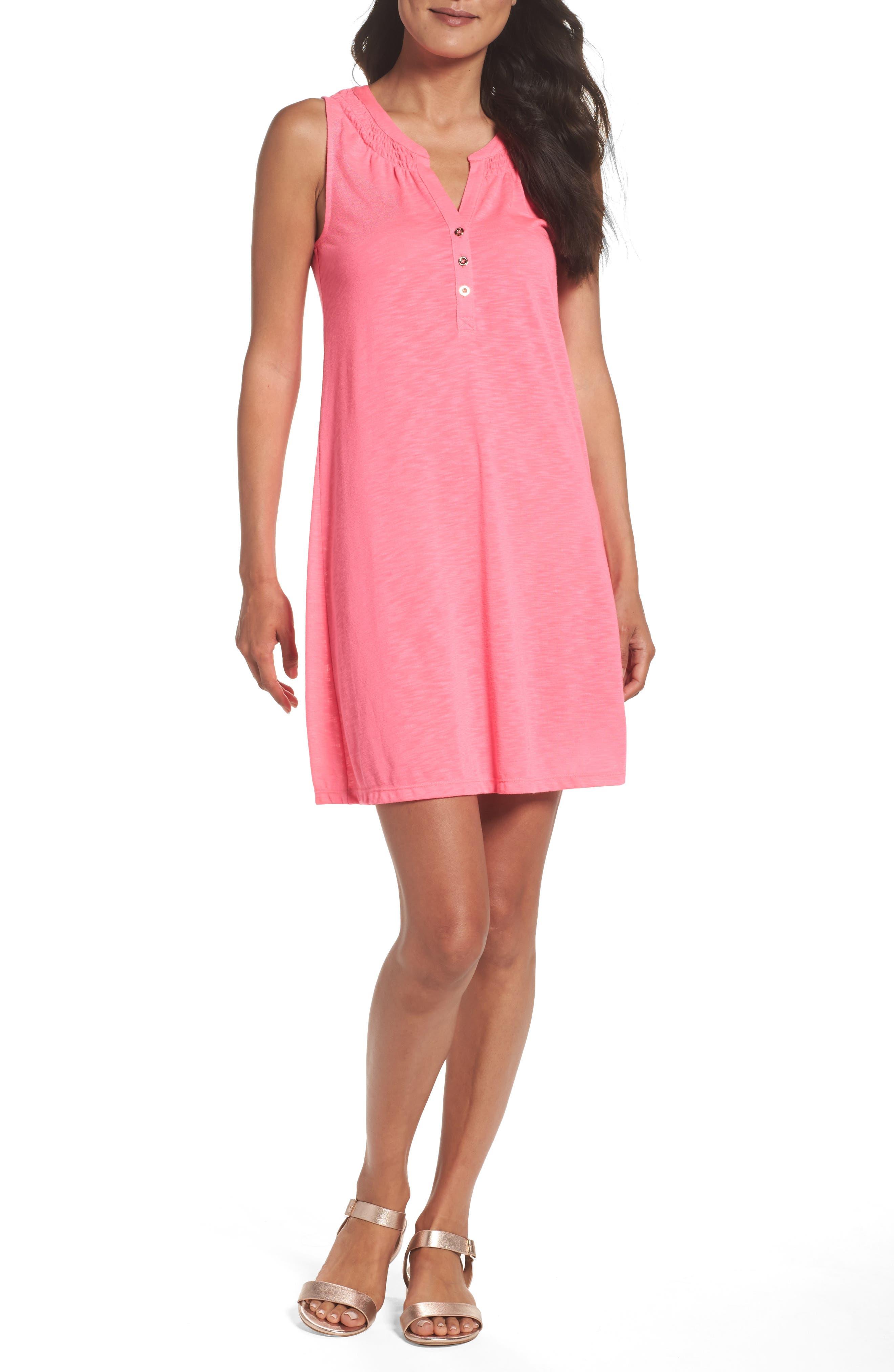 Main Image - Lilly Pulitzer® 'Essie' Cotton & Modal A-Line Dress