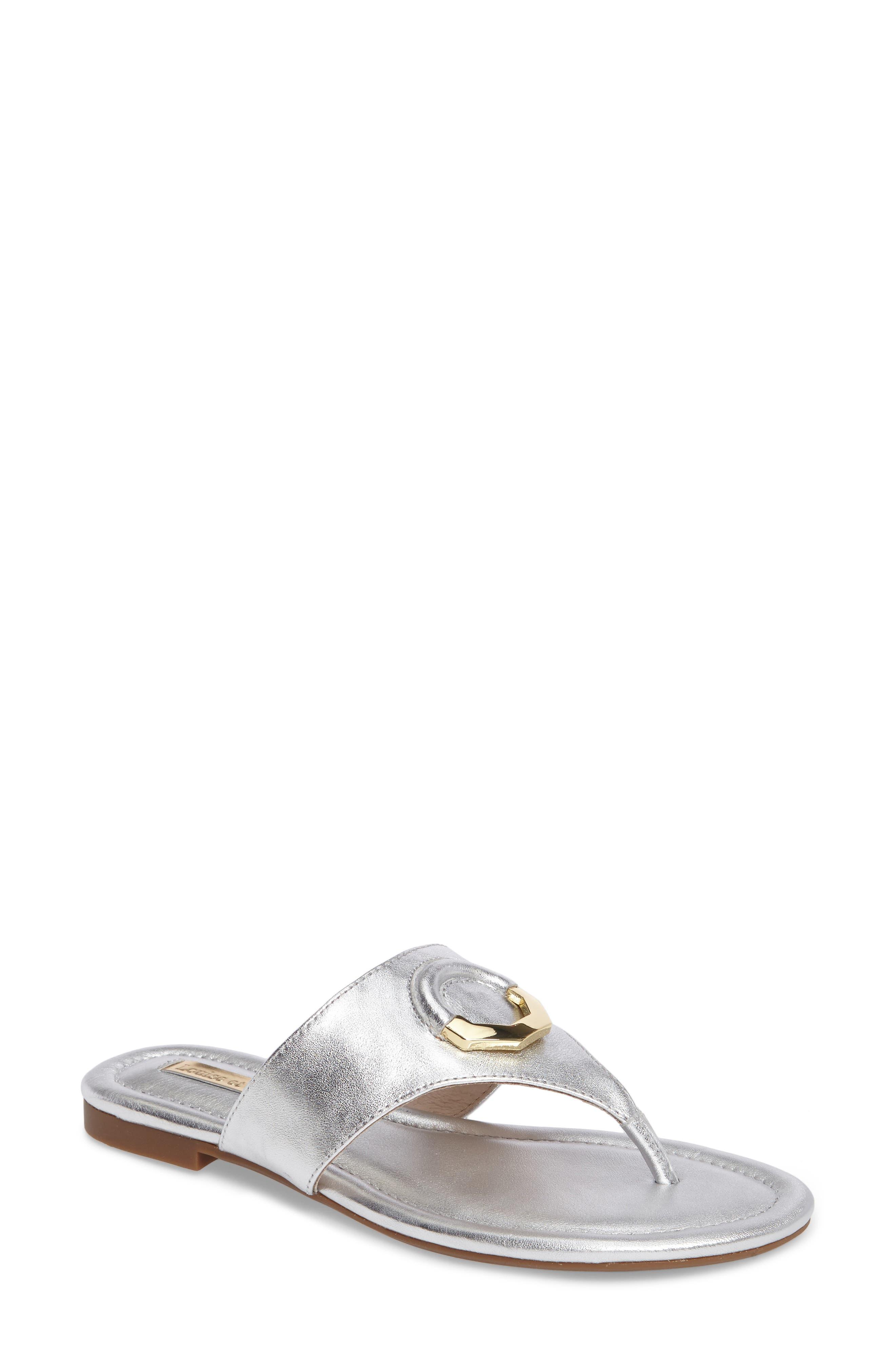 Adana Flip Flop,                             Main thumbnail 1, color,                             Sterling Leather