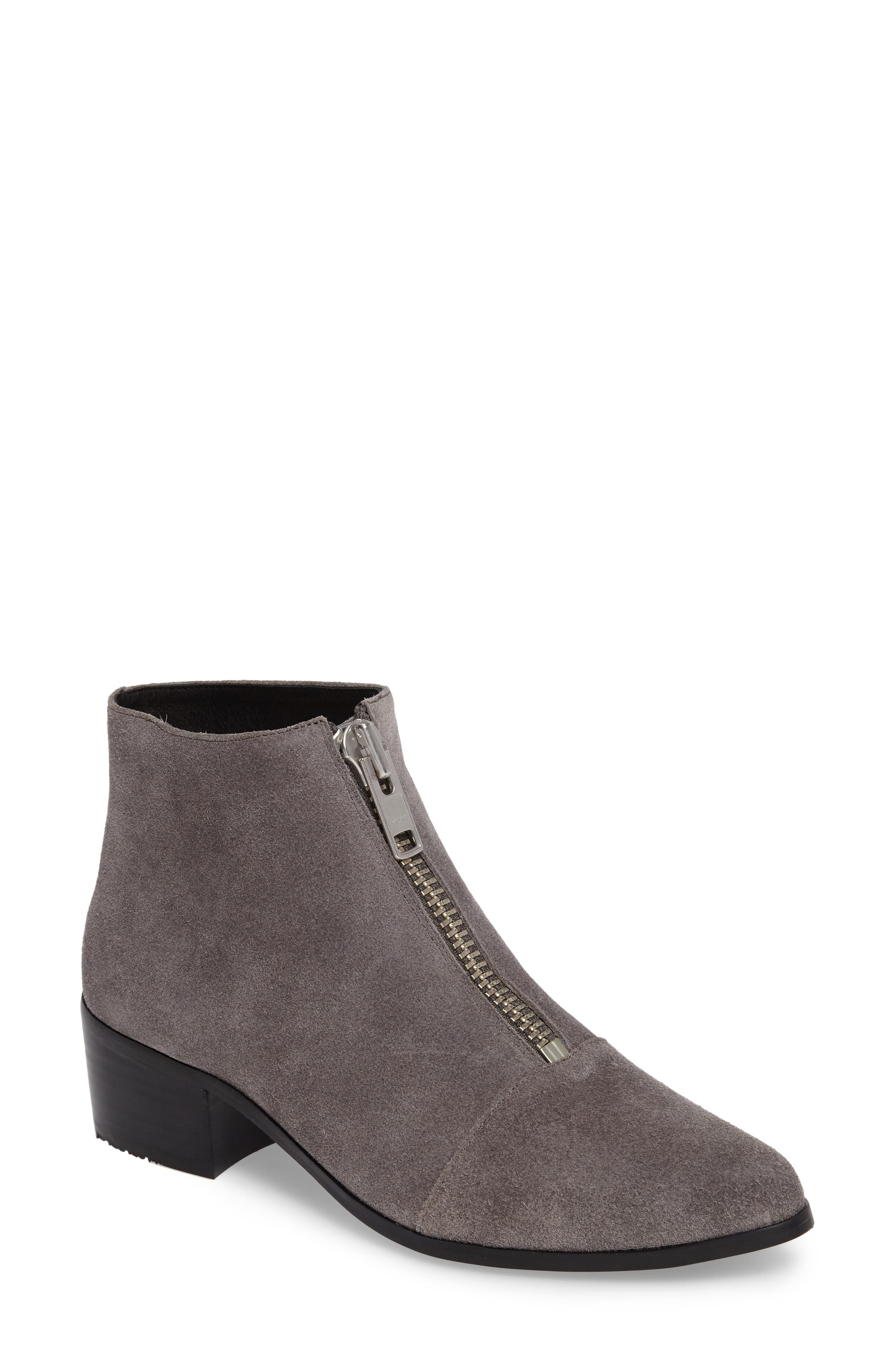 GREY CITY Winona Front Zip Bootie
