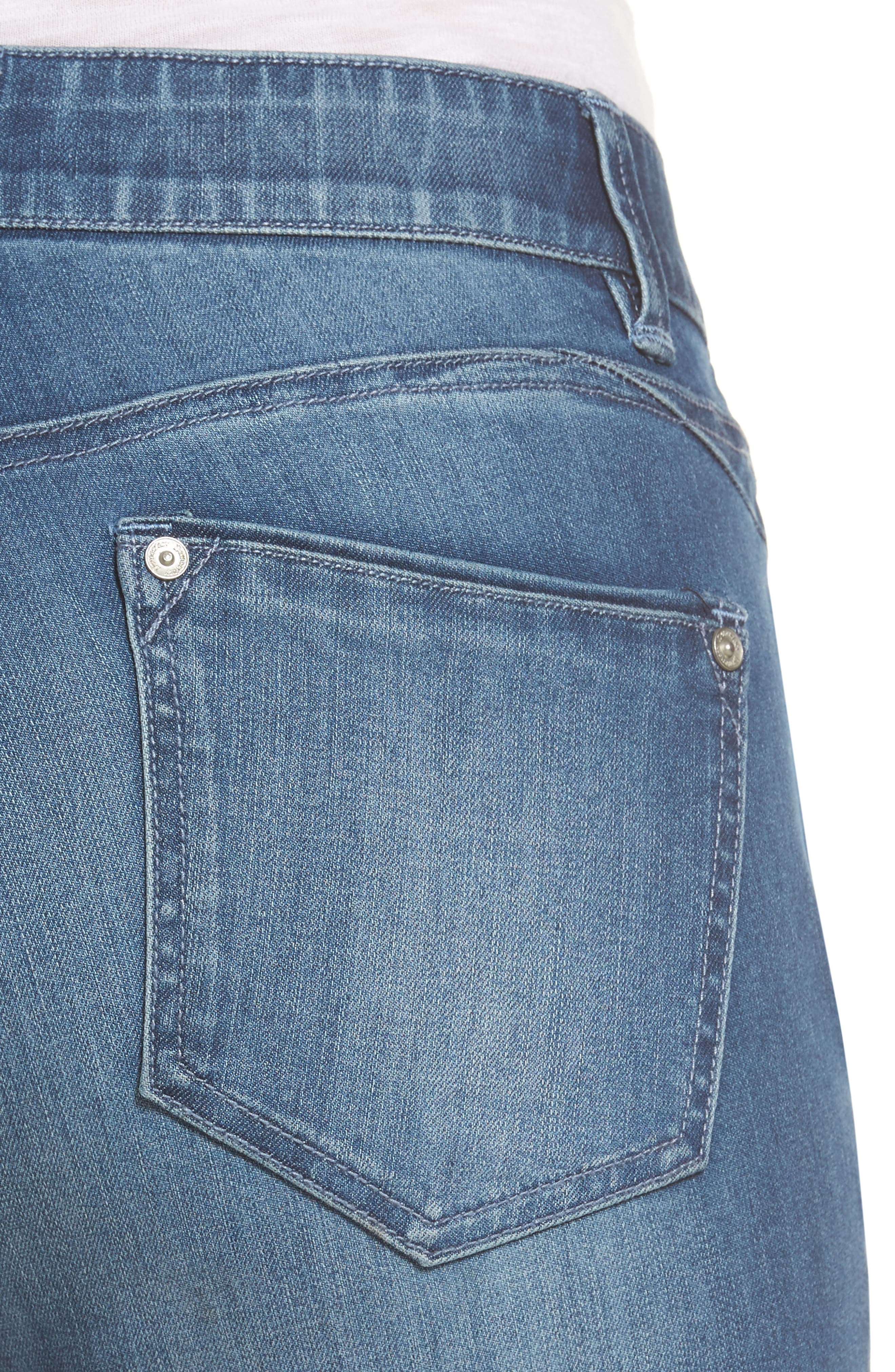 Alternate Image 4  - Wit & Wisdom Ab-solution Stretch Ankle Skinny Jeans (Regular & Petite) (Nordstrom Exclusive)