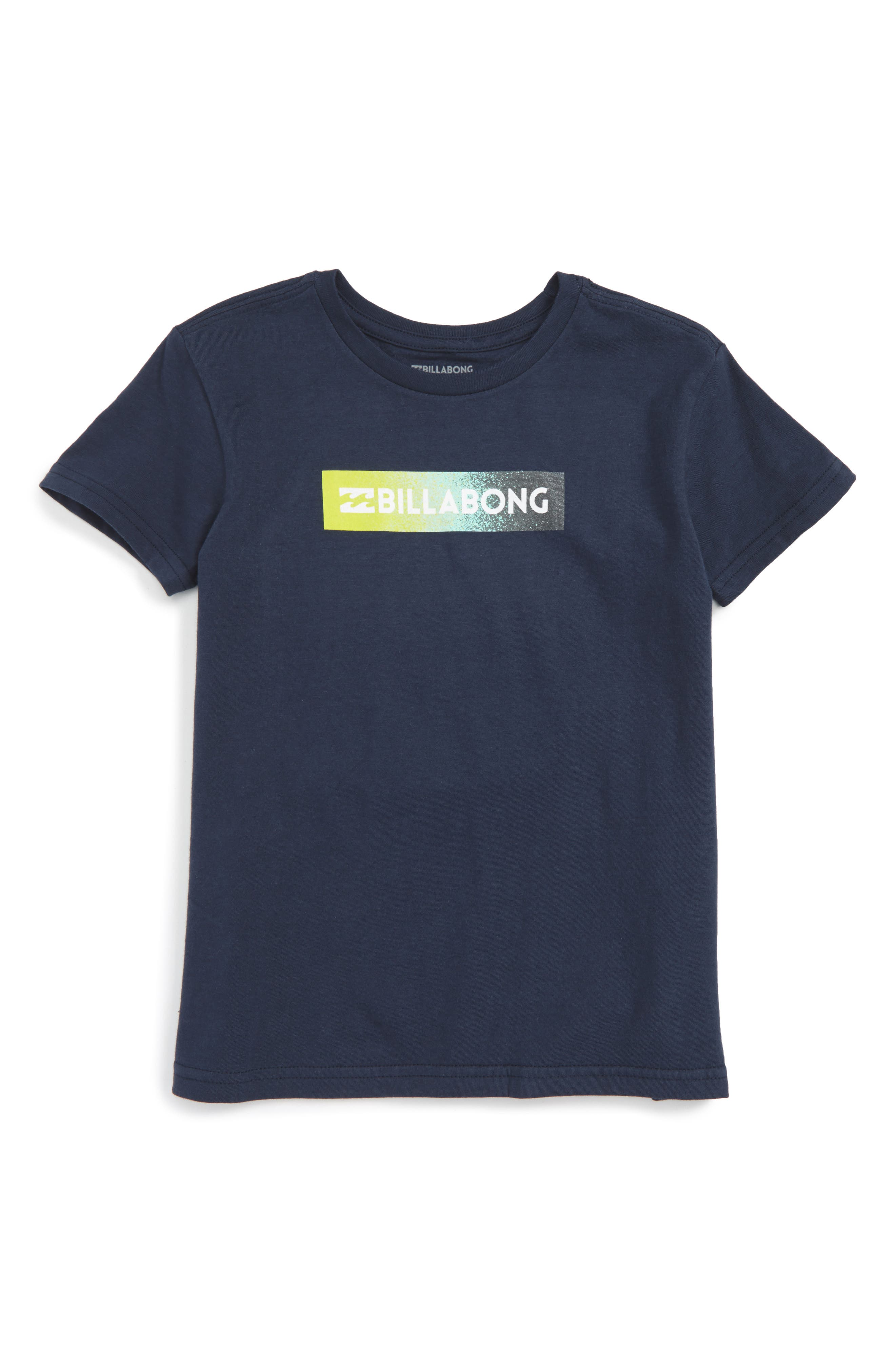 Unity Block Graphic T-Shirt,                             Main thumbnail 1, color,                             Navy