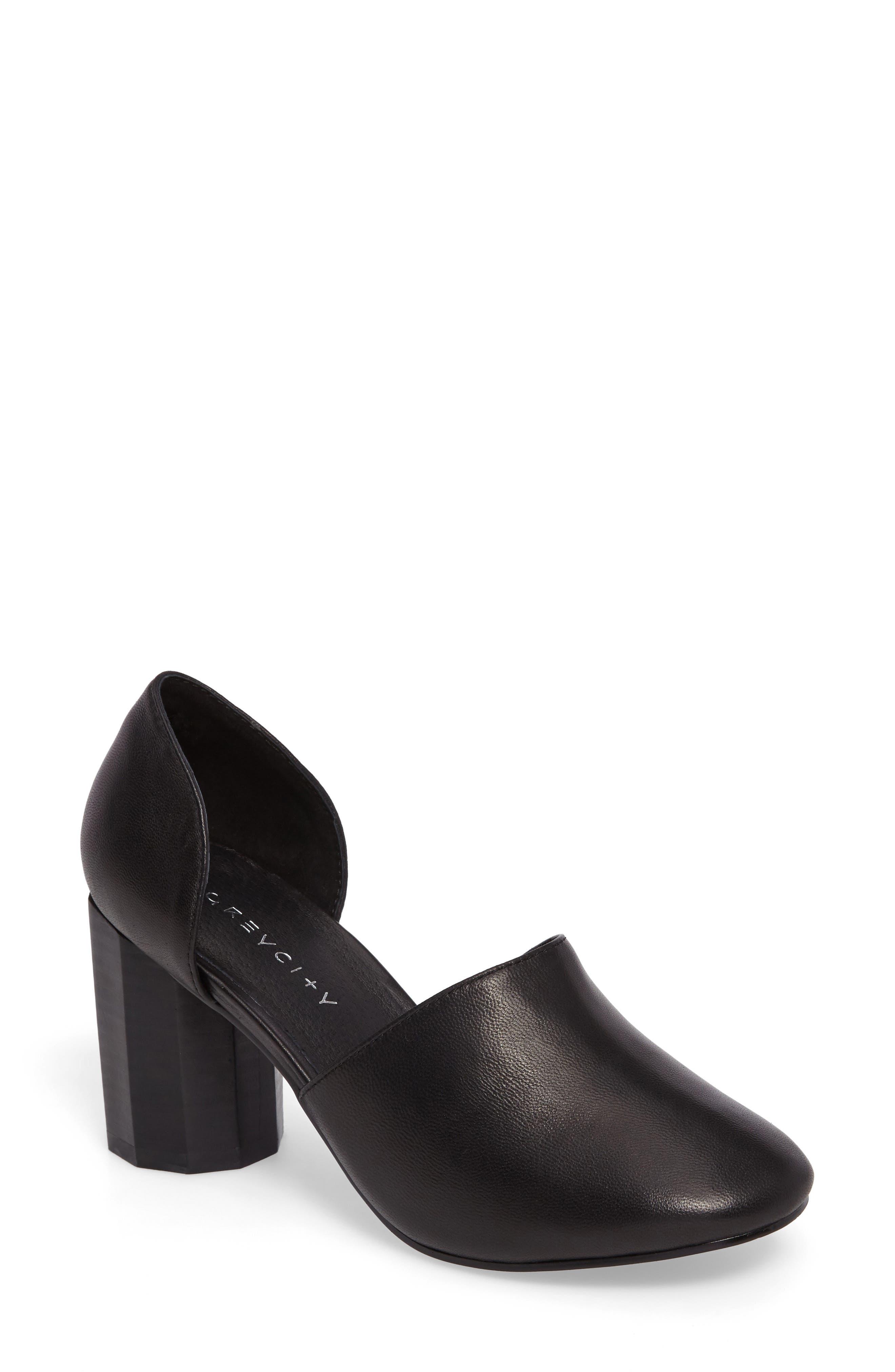 Main Image - Grey City Sarah Column Heel Pump (Women)