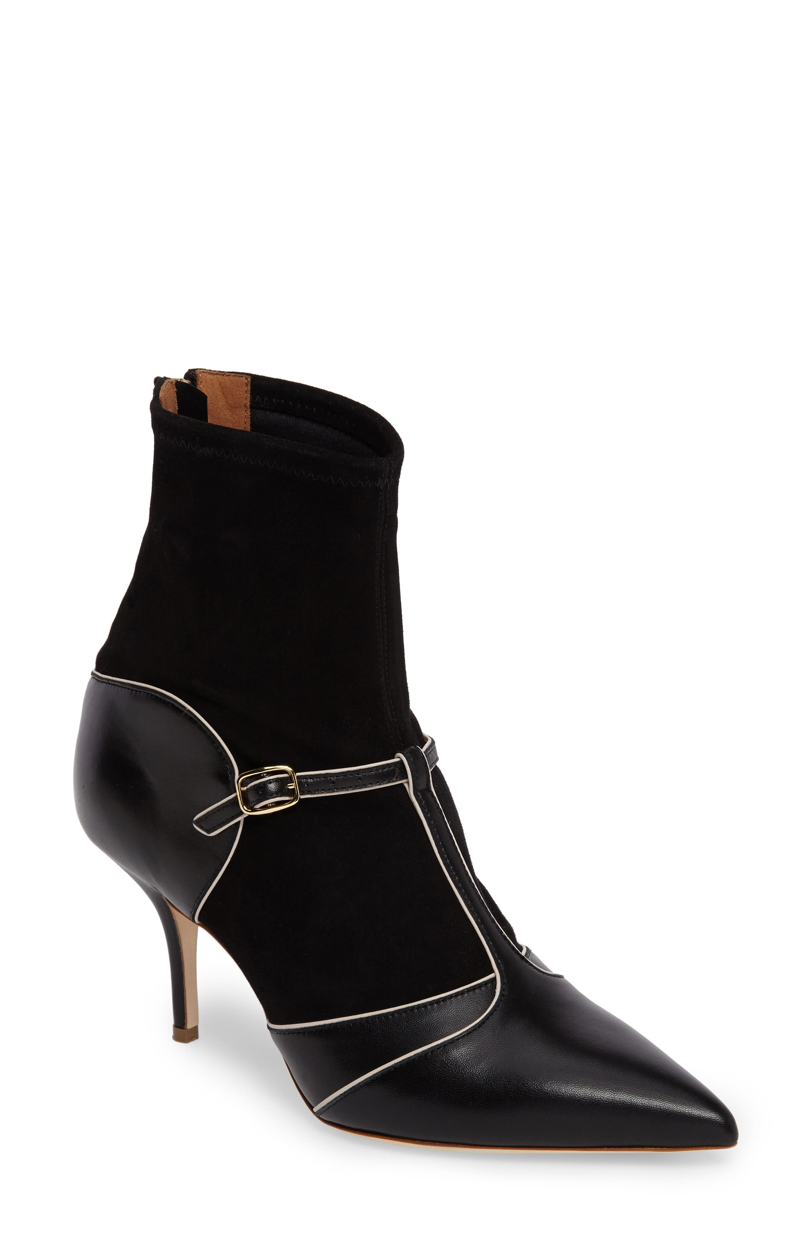 Sadie Bootie,                             Main thumbnail 1, color,                             Black/ Ice