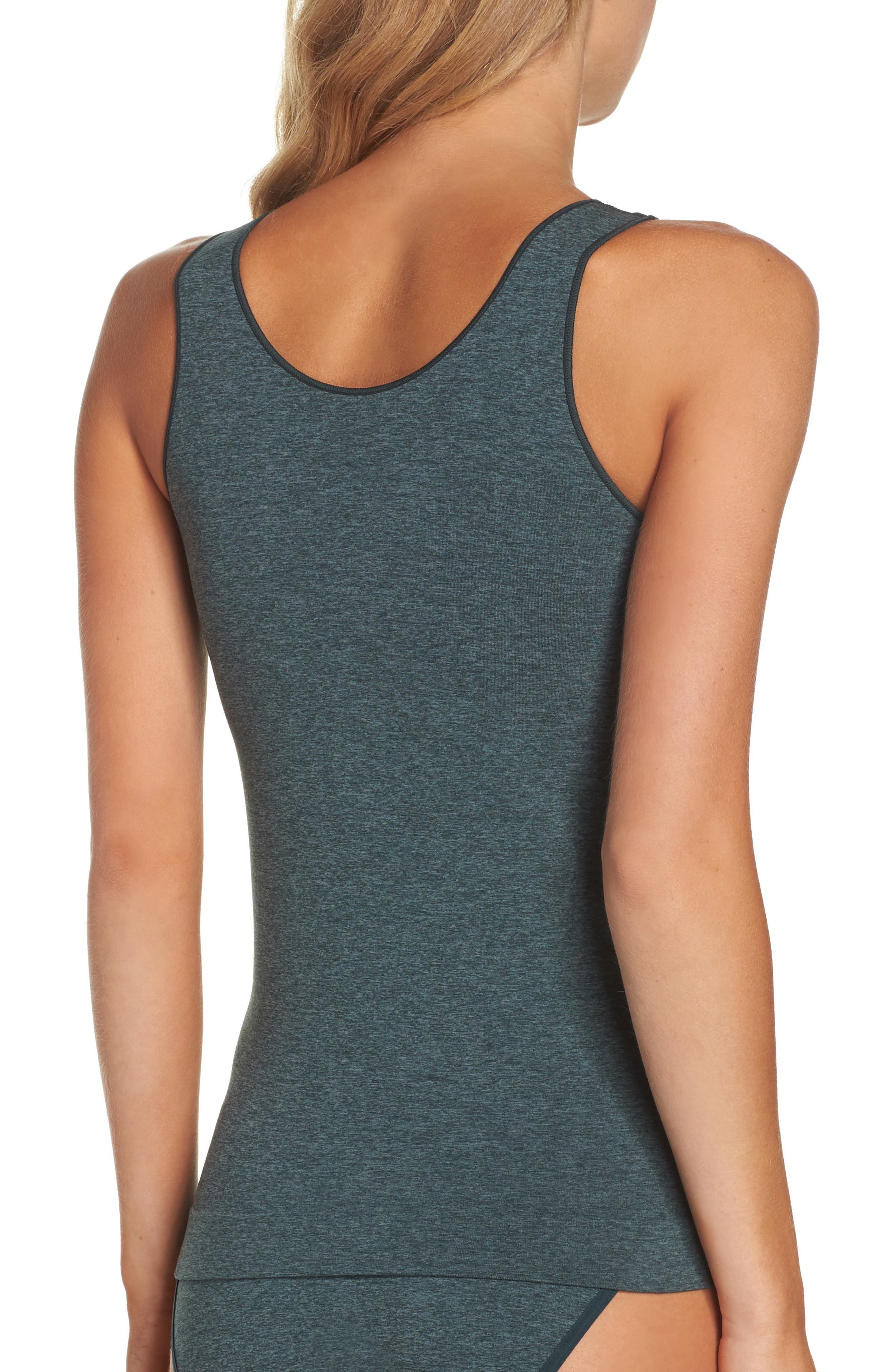Alternate Image 2  - Nordstrom Lingerie Two-Way Seamless Tank