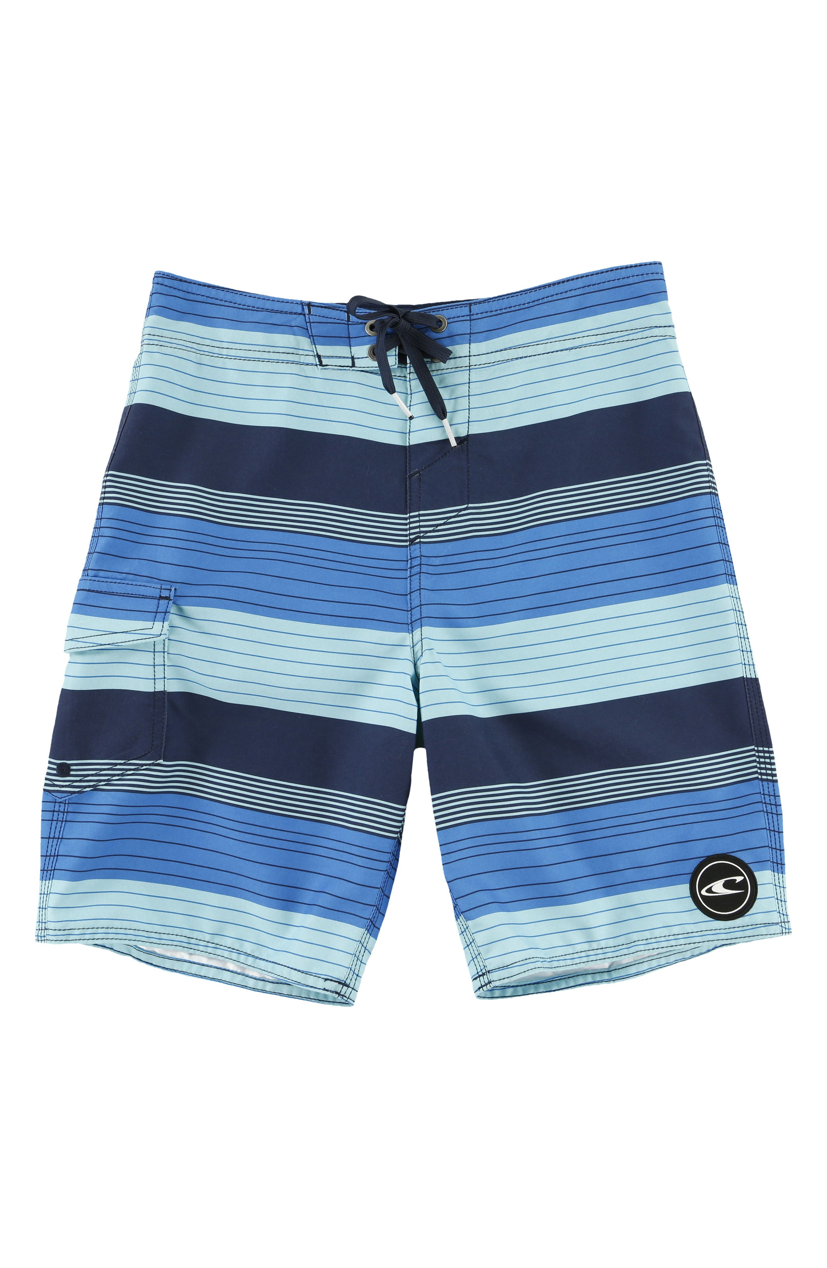 Alternate Image 1 Selected - O'Neill Santa Cruz Stripe Board Shorts (Big Boys)