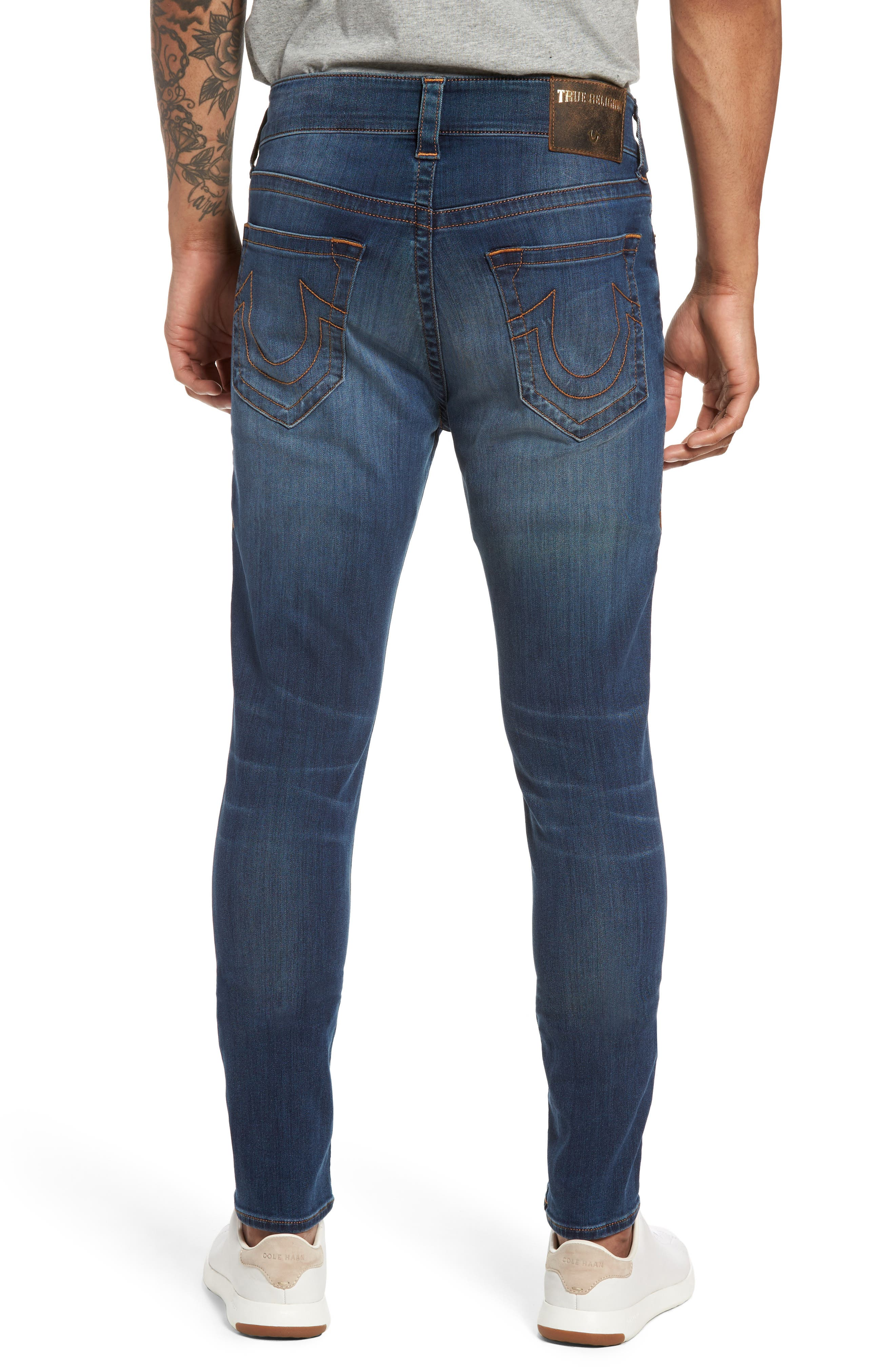 Alternate Image 2  - True Religion Brand Jeans Jack Skinny Fit Jeans (Desert Highway)