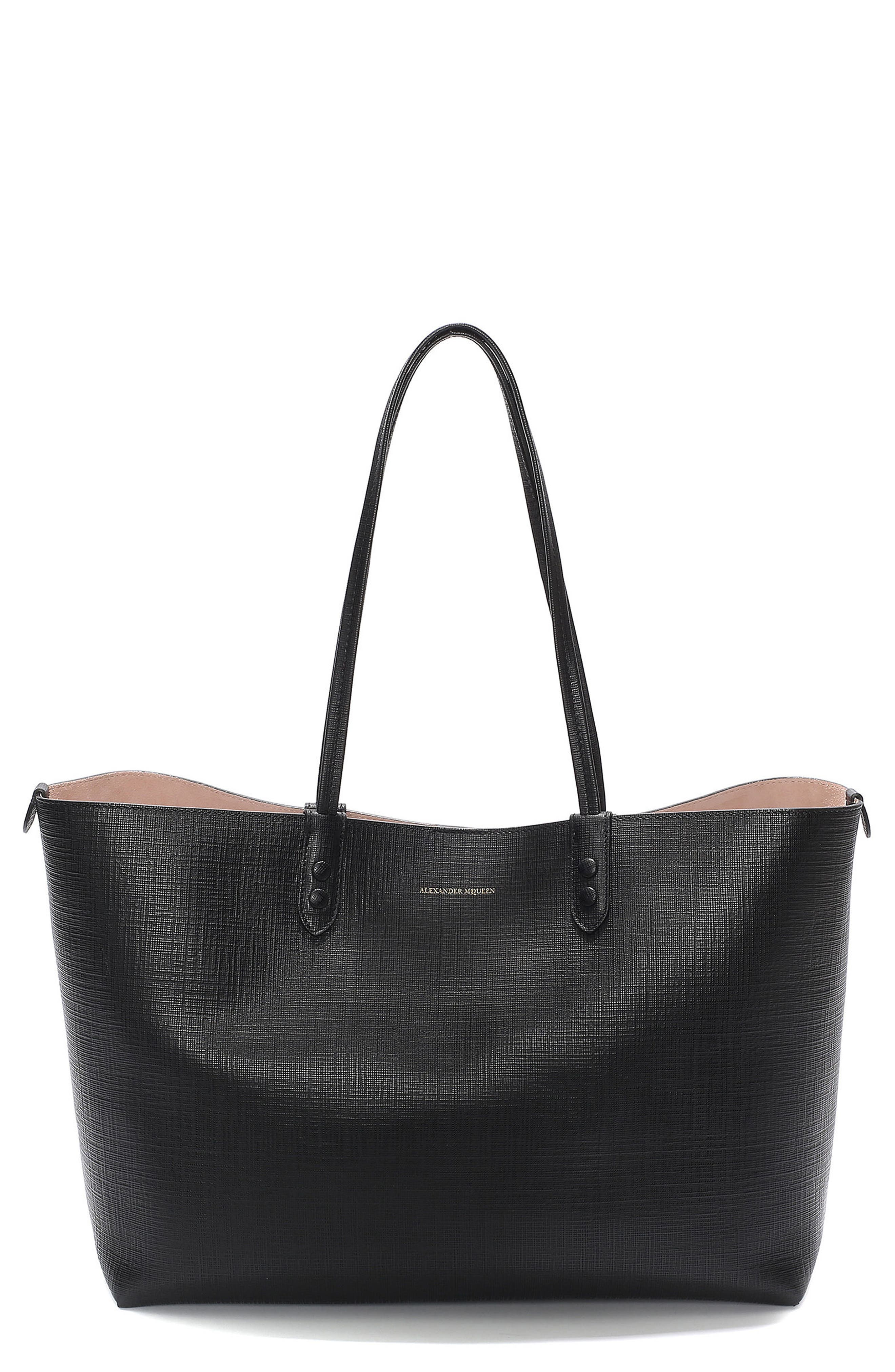 Alexander McQueen Medium Calfksin Leather Shopper