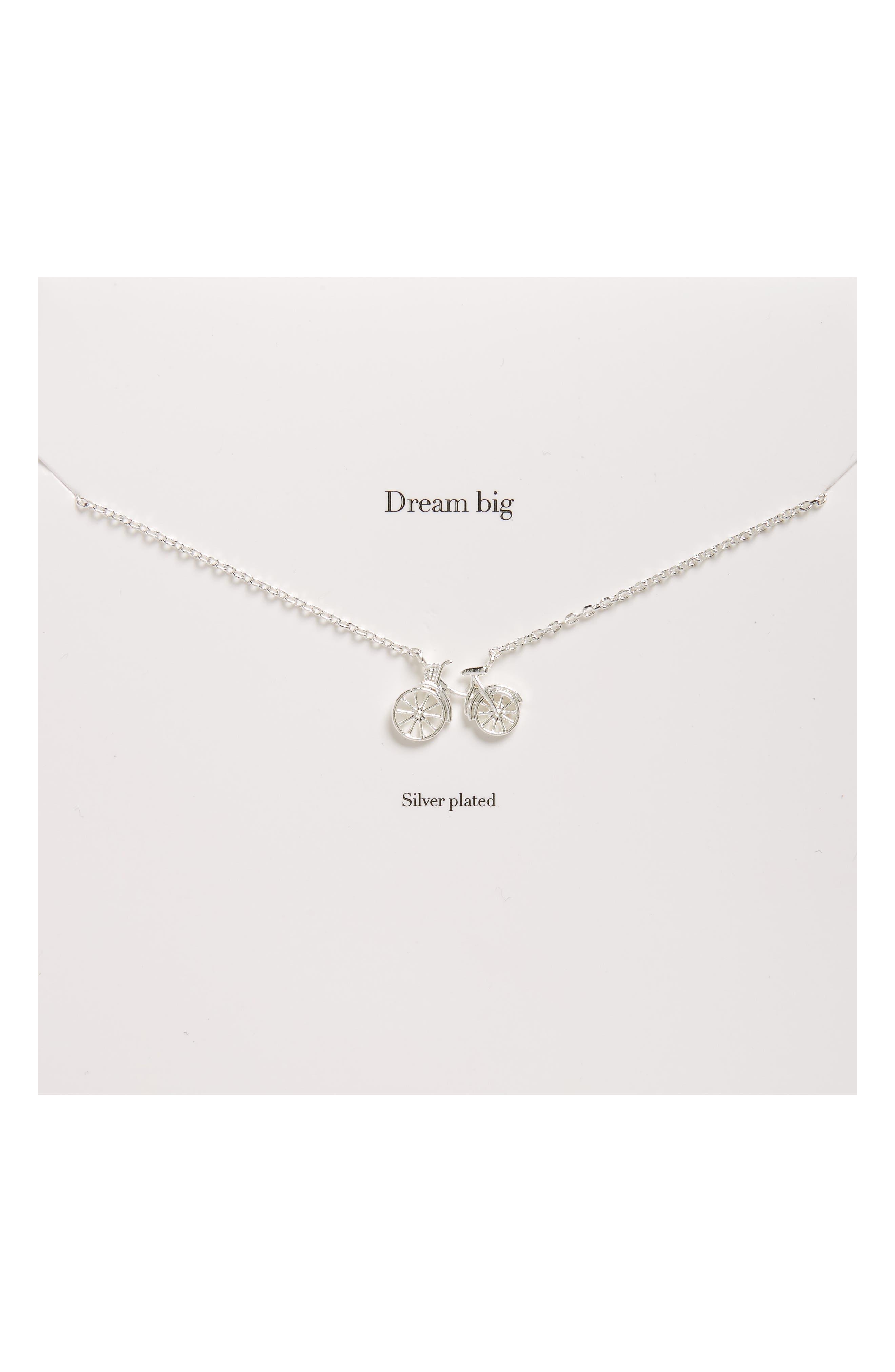 Alternate Image 1 Selected - Estella Bartlett Bicycle Pendant Necklace