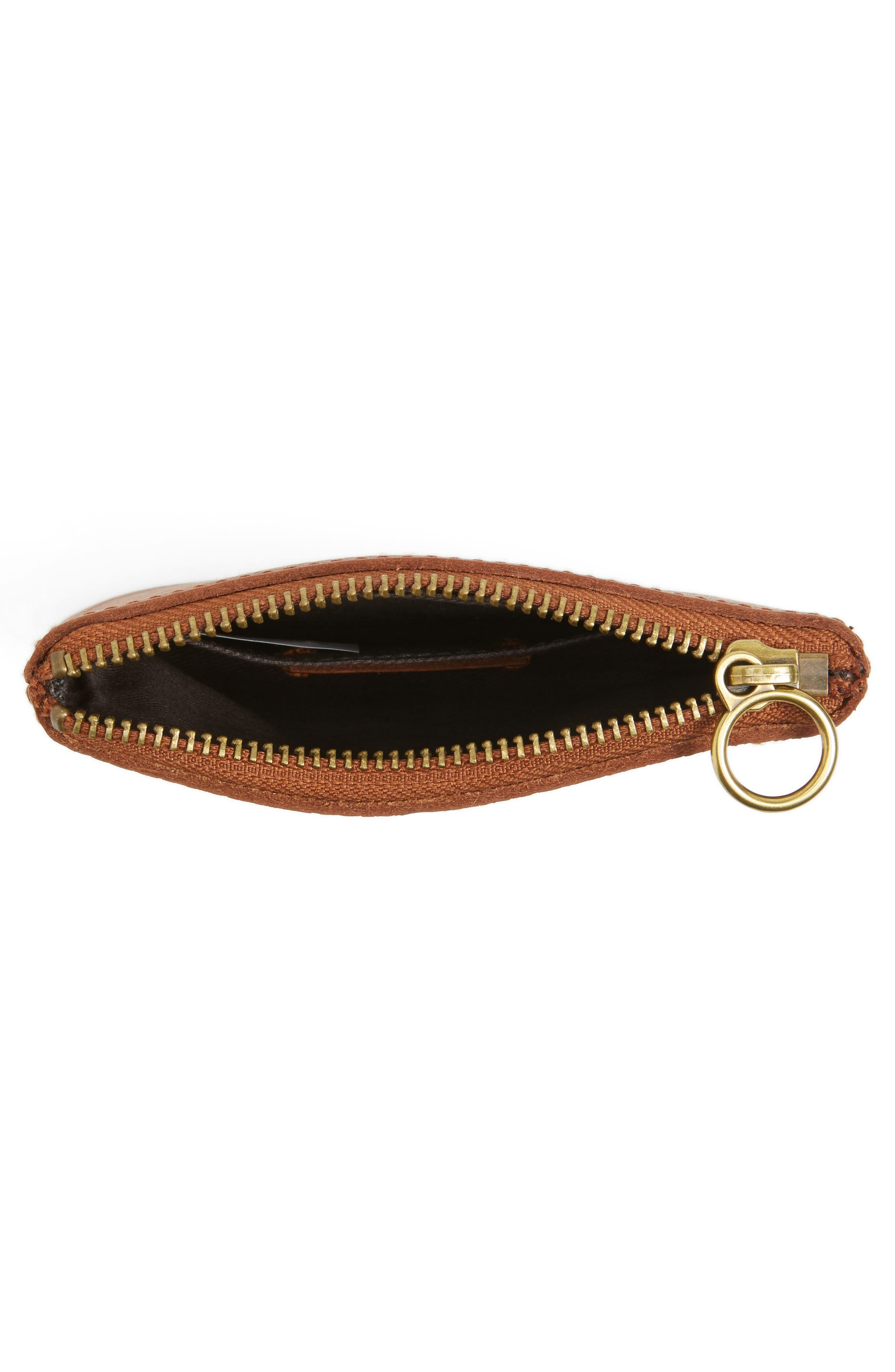 Alternate Image 3  - Madewell The Leather Pouch Wallet