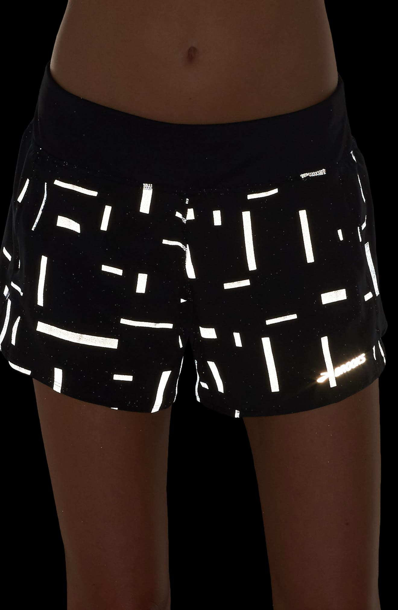 Chaser Running Shorts,                             Alternate thumbnail 4, color,                             Comet Reflective