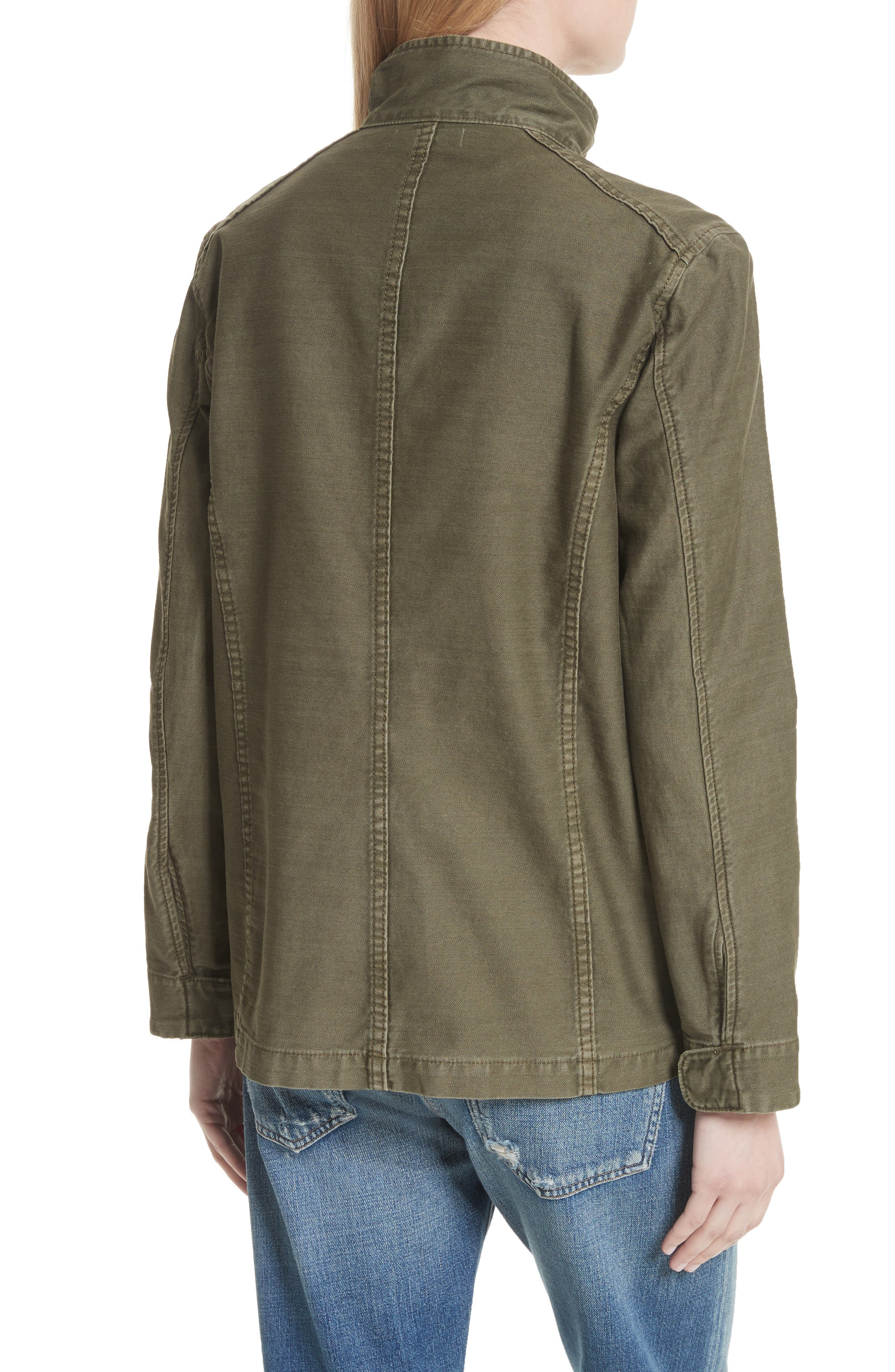 Alternate Image 2  - Vince Military Jacket