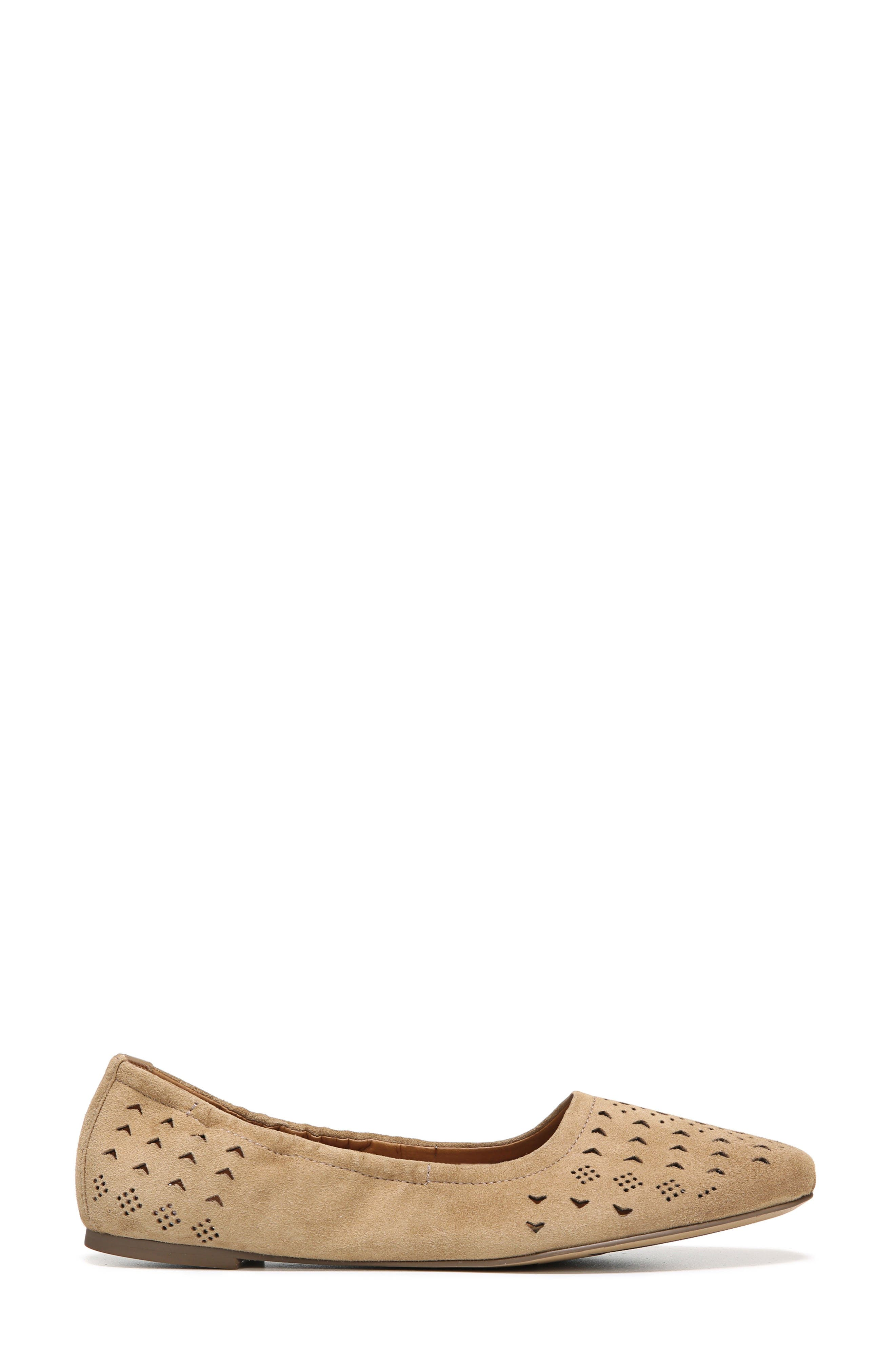 Alternate Image 3  - SARTO by Franco Sarto Brewer Perforated Ballet Flat (Women)