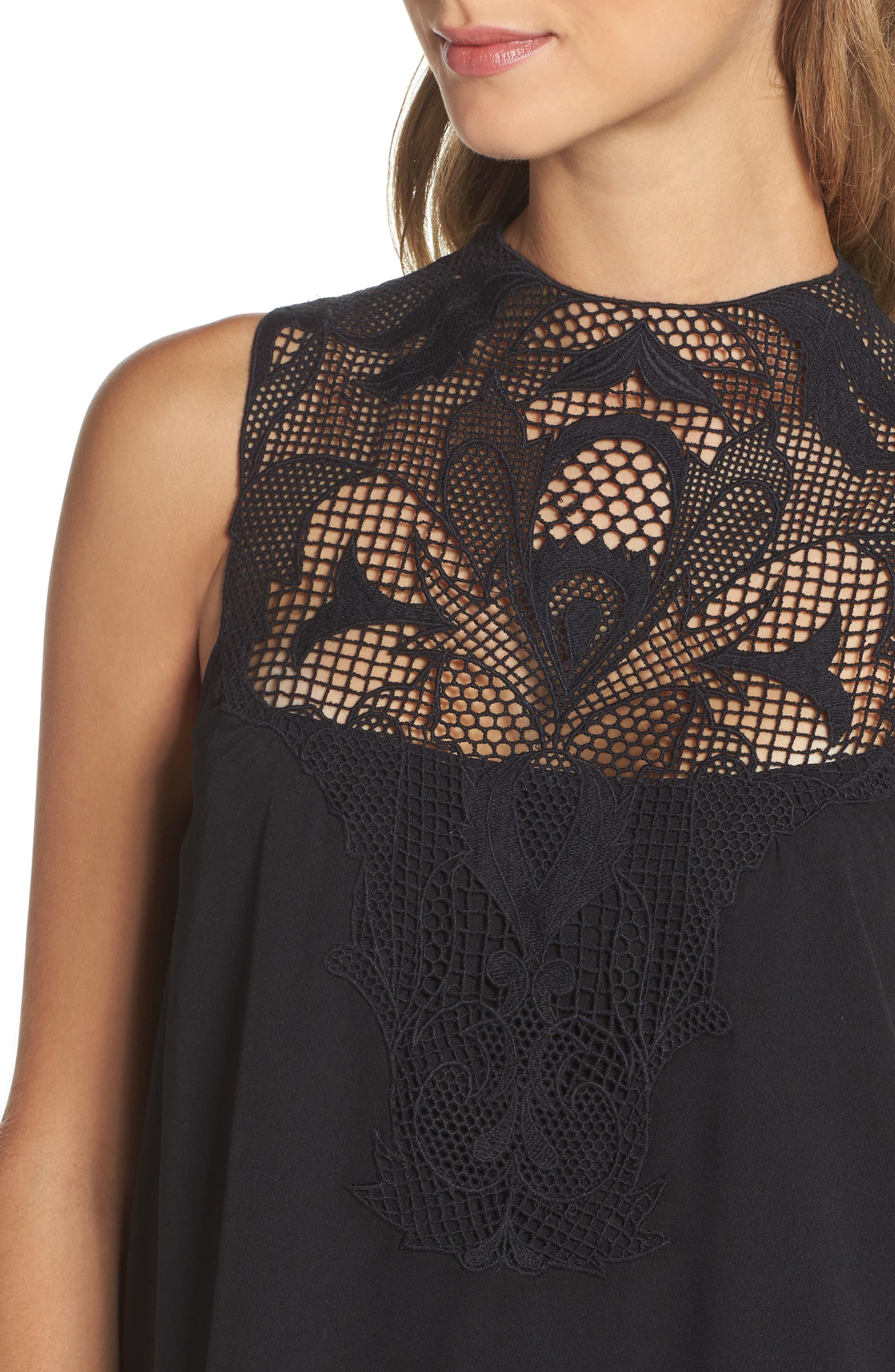 Alternate Image 4  - Chelsea28 Swing Dress