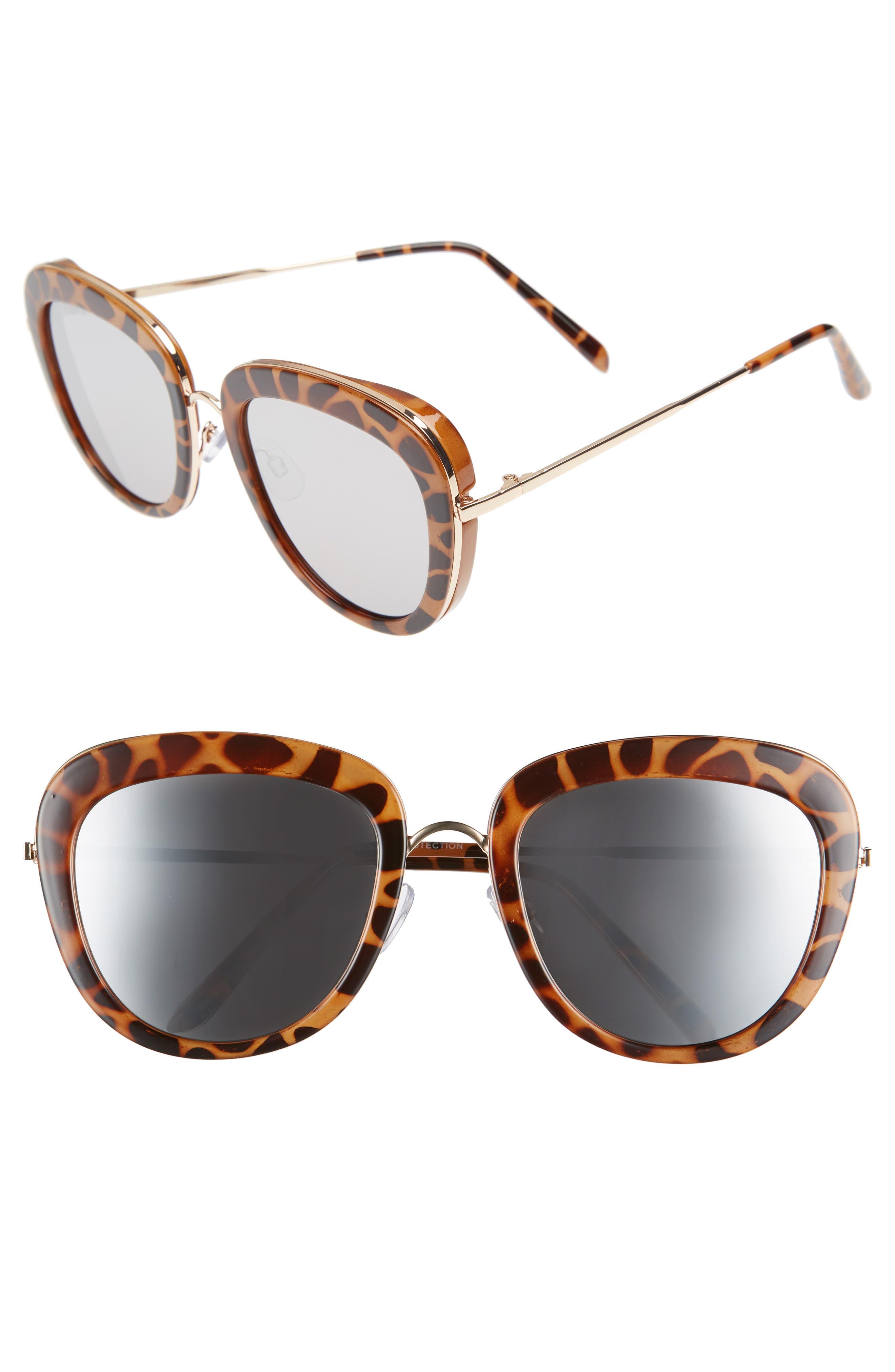 BP. 53mm Square Sunglasses