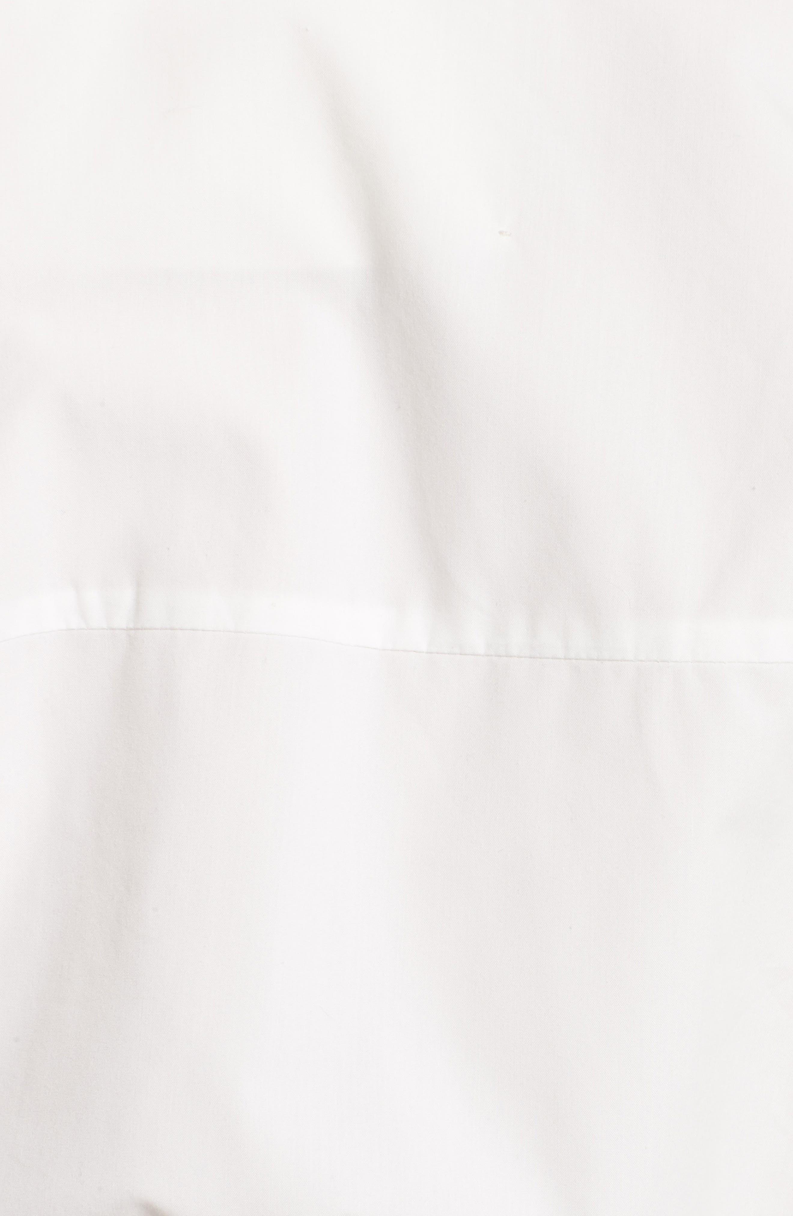 Oversized Convertible Wrap Blouse,                             Alternate thumbnail 3, color,                             White