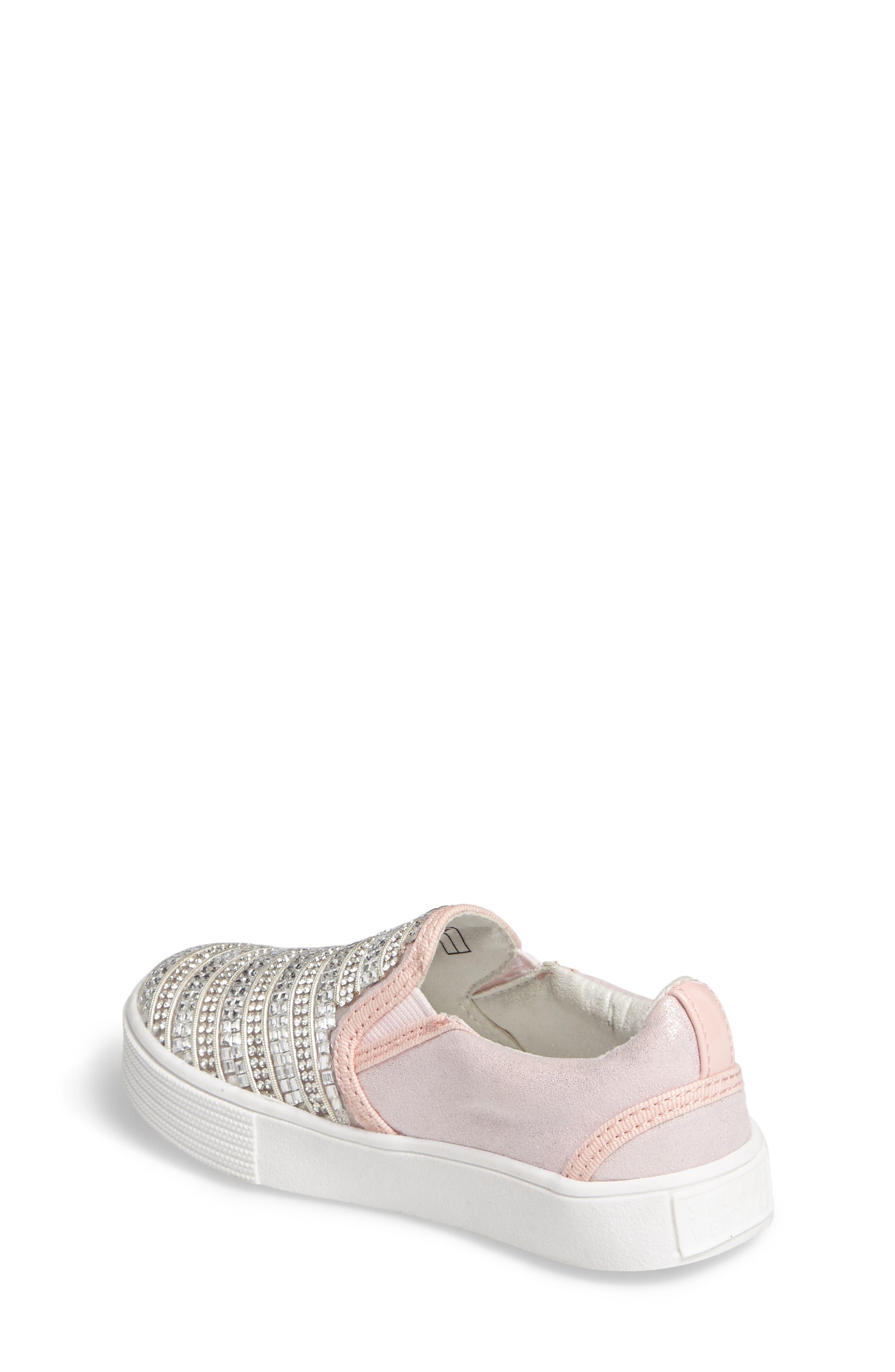 Alternate Image 2  - Stuart Weitzman Vance Glitz Slip-On Sneaker (Walker, Toddler, Little Kid & Big Kid)