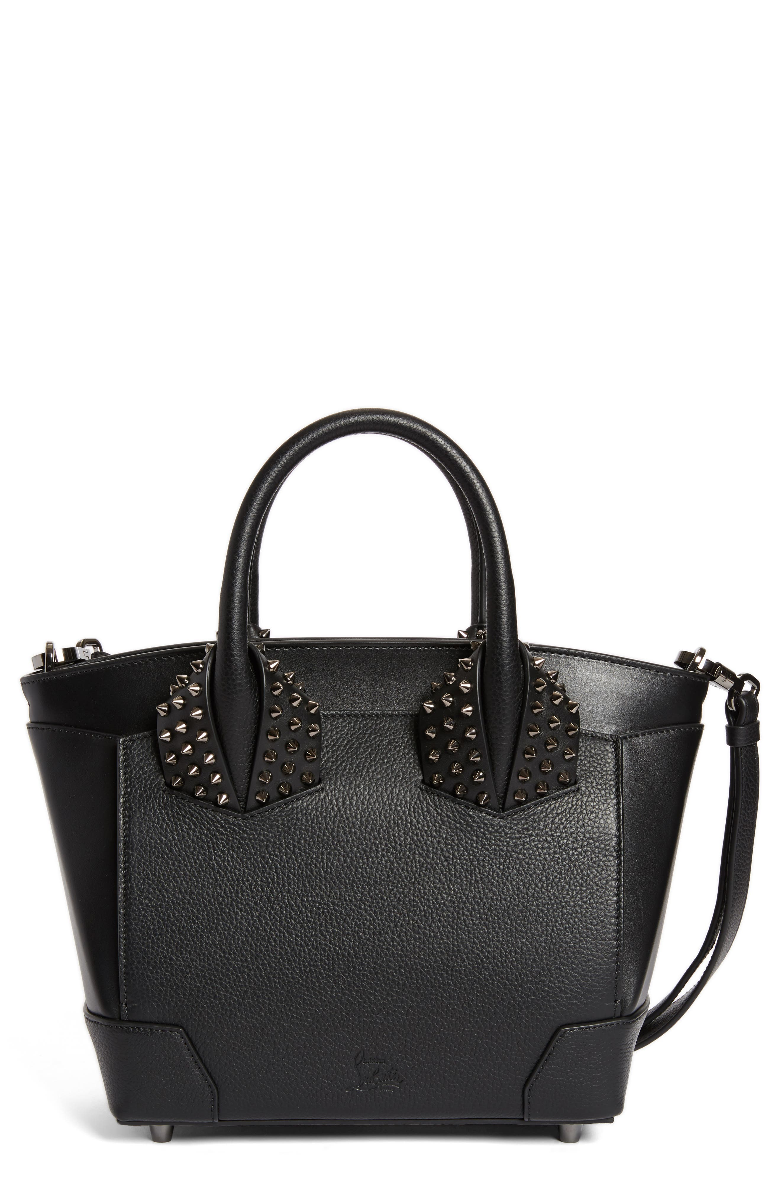 Alternate Image 1 Selected - Christian Louboutin Large Eloise Studded Calfskin Satchel