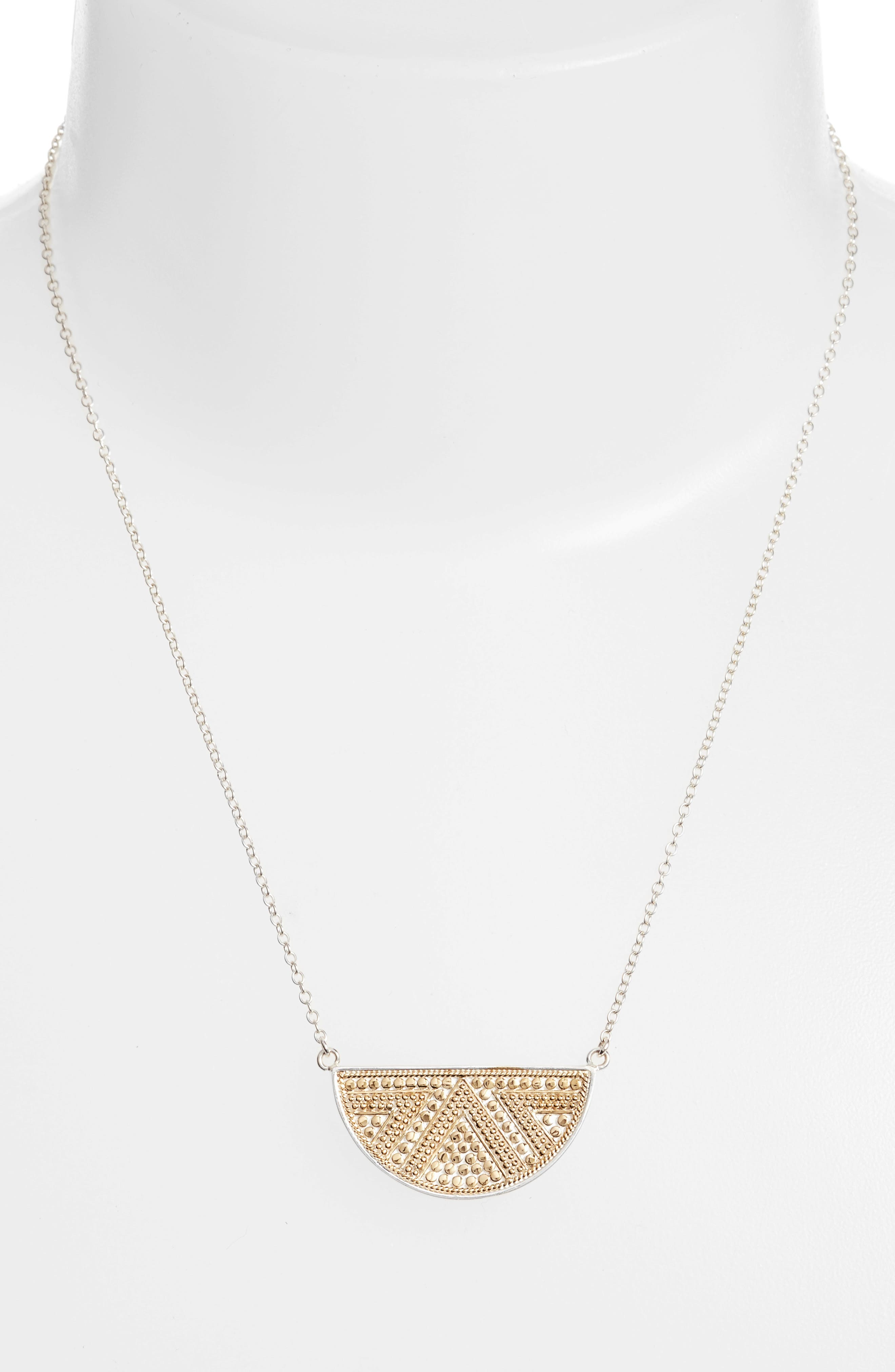 Anna Beck Reversible Pendant Necklace
