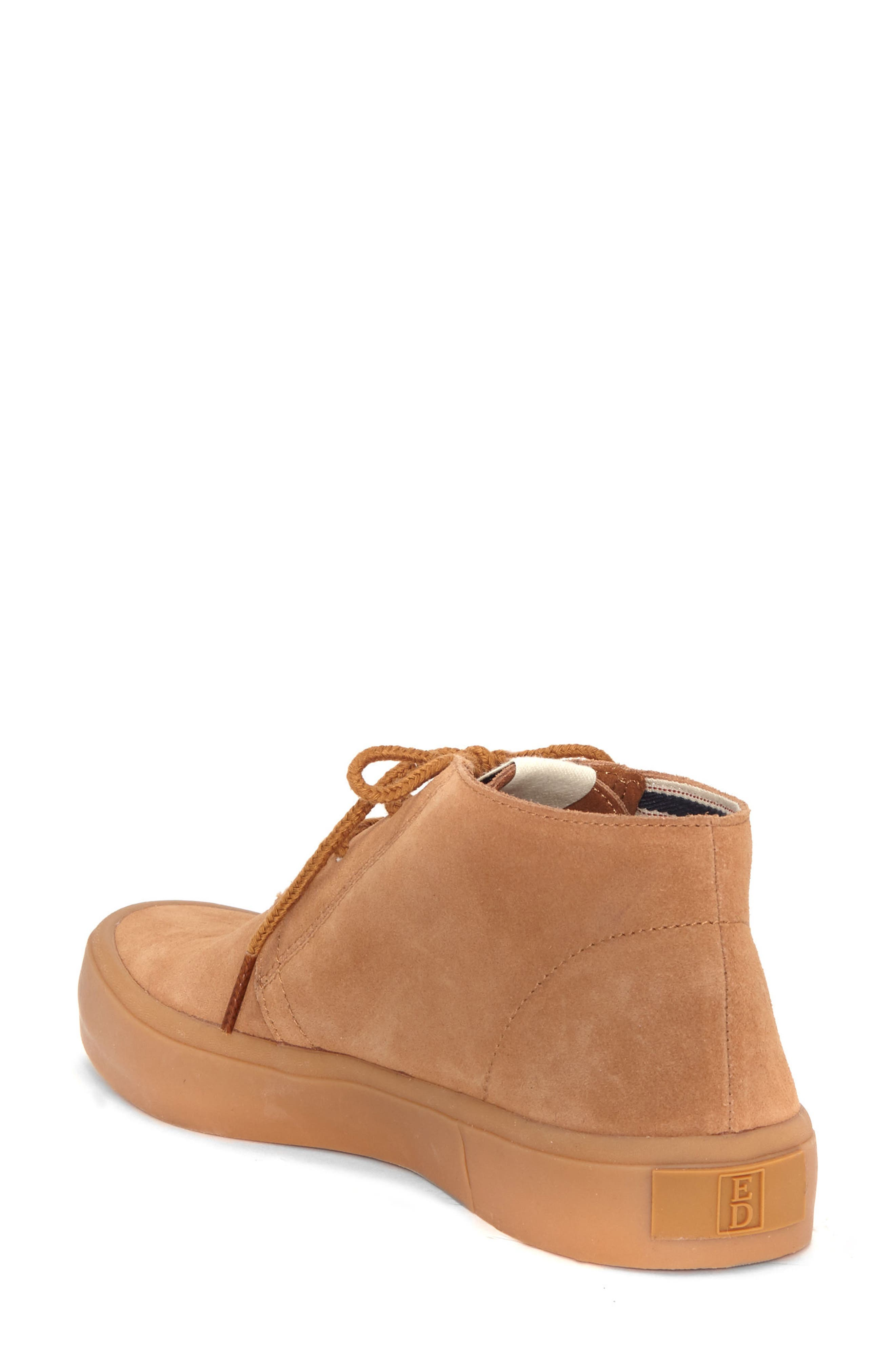 Dax Chukka Sneaker,                             Alternate thumbnail 2, color,                             Honey Suede