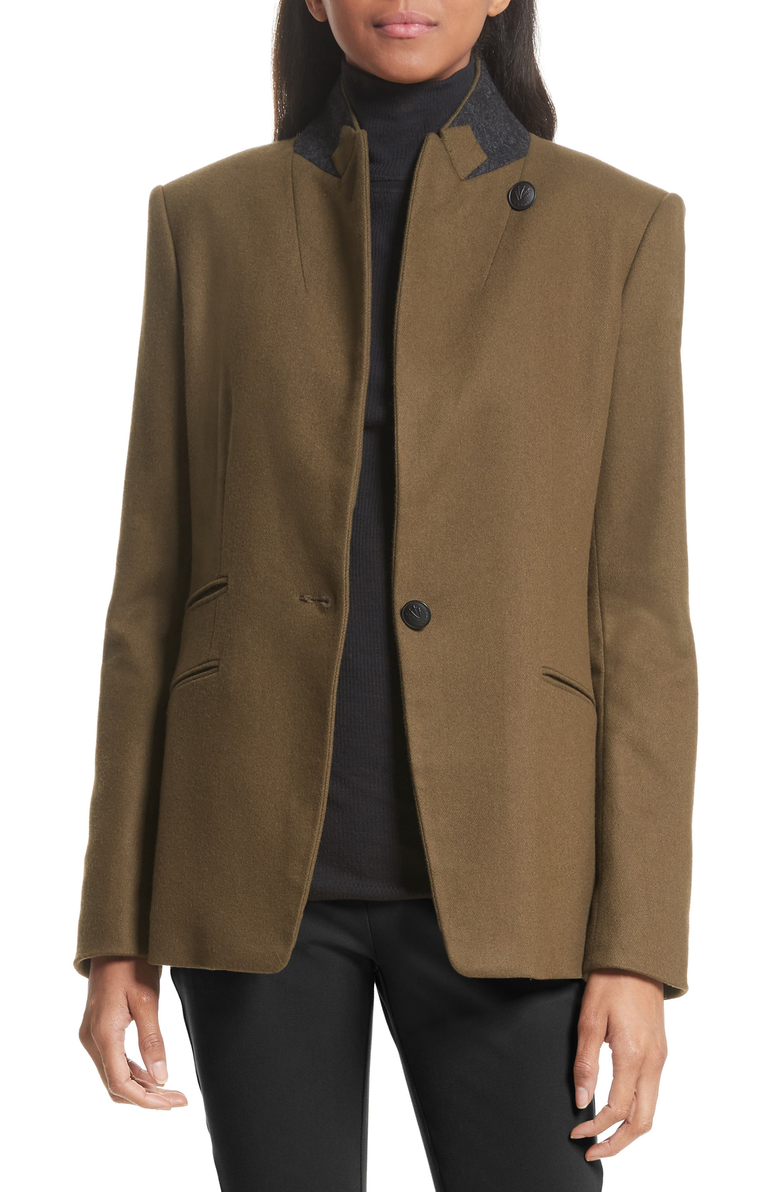 Alternate Image 1 Selected - rag & bone Duke Wool Blend Blazer