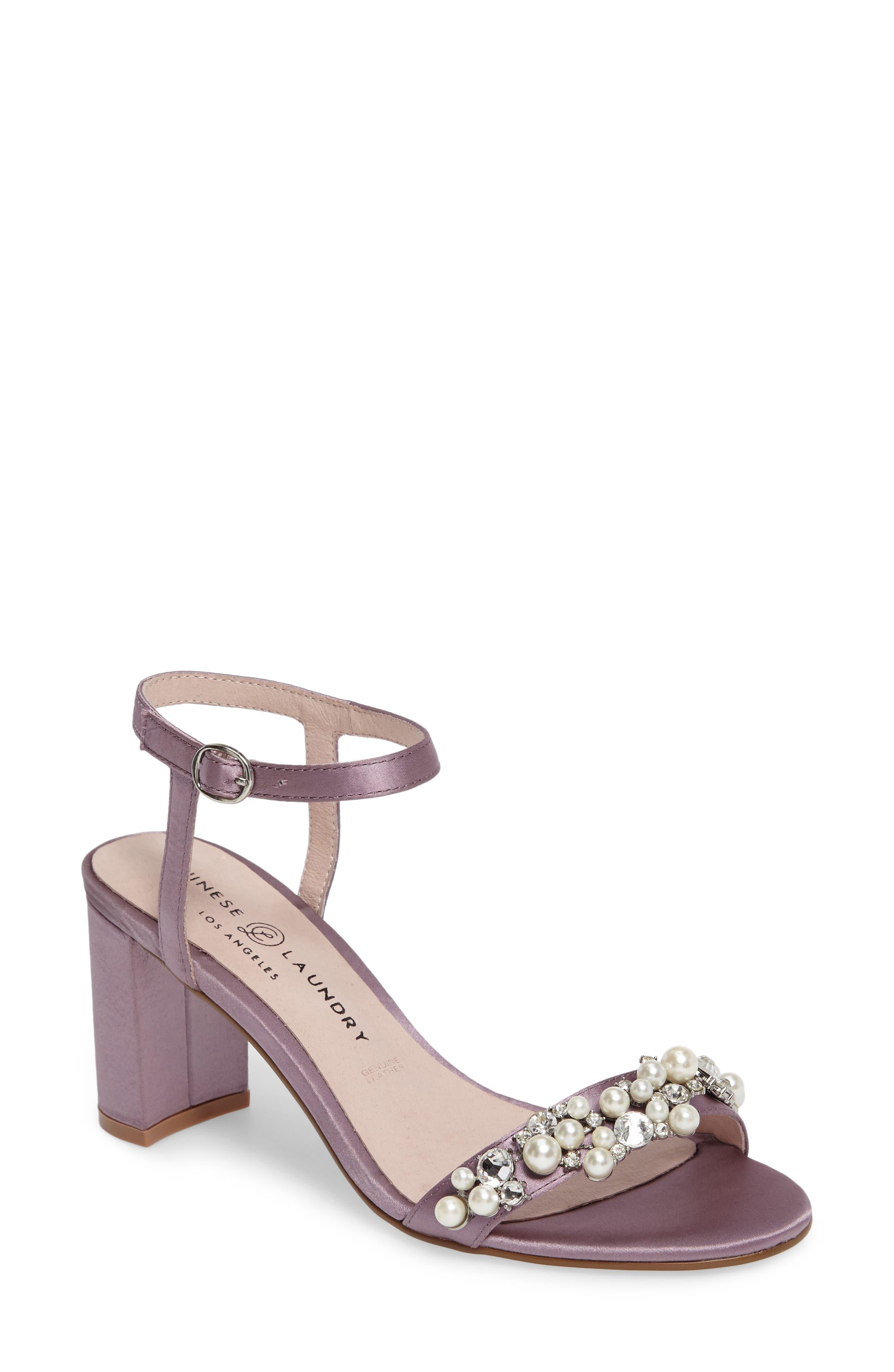 Main Image - Chinese Laundry Rosetta Embellished Sandal (Women)