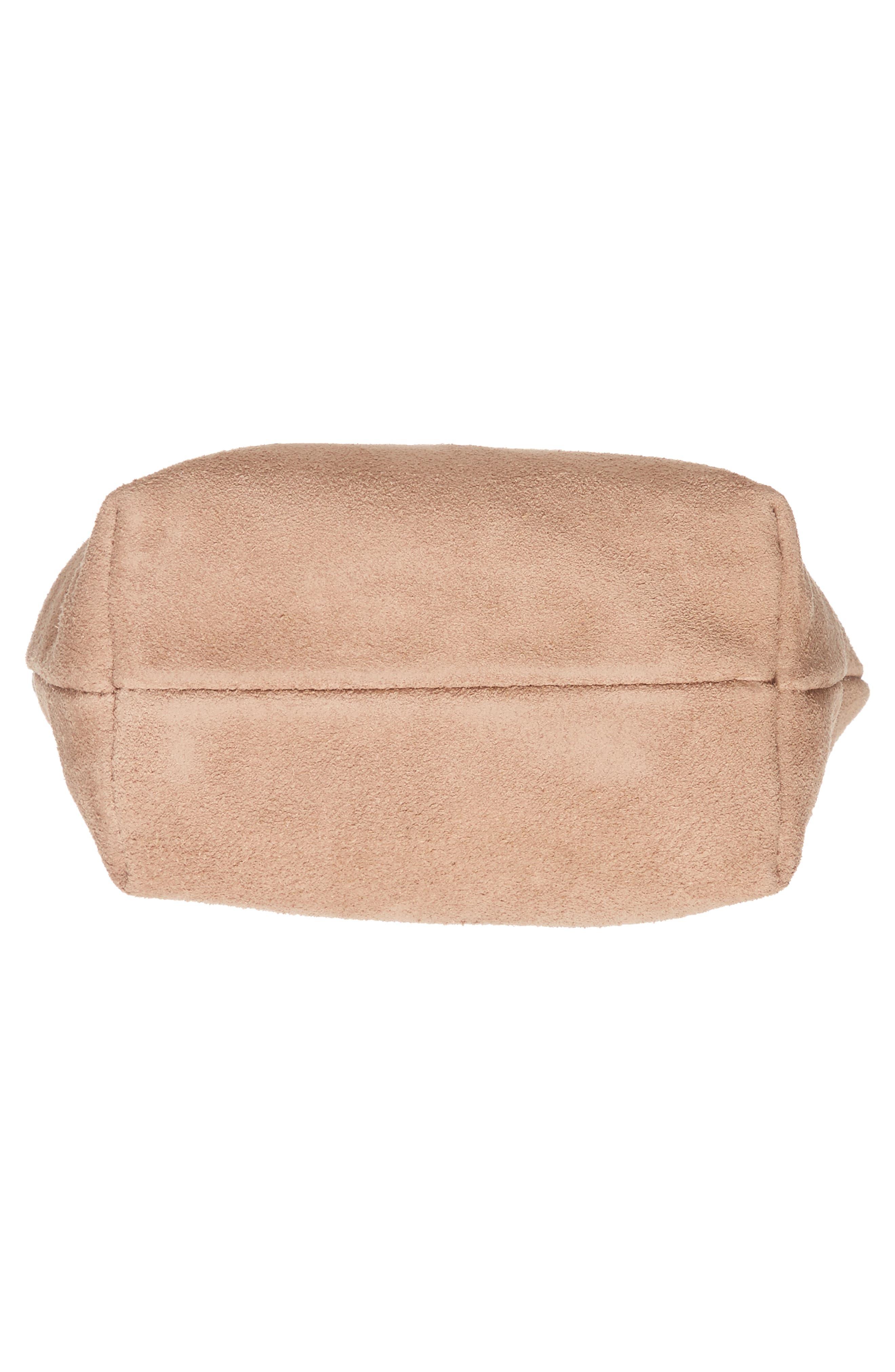 Alternate Image 5  - Baggu Leather Crossbody Bag