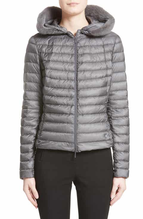 Moncler Quilted Hooded Jacket