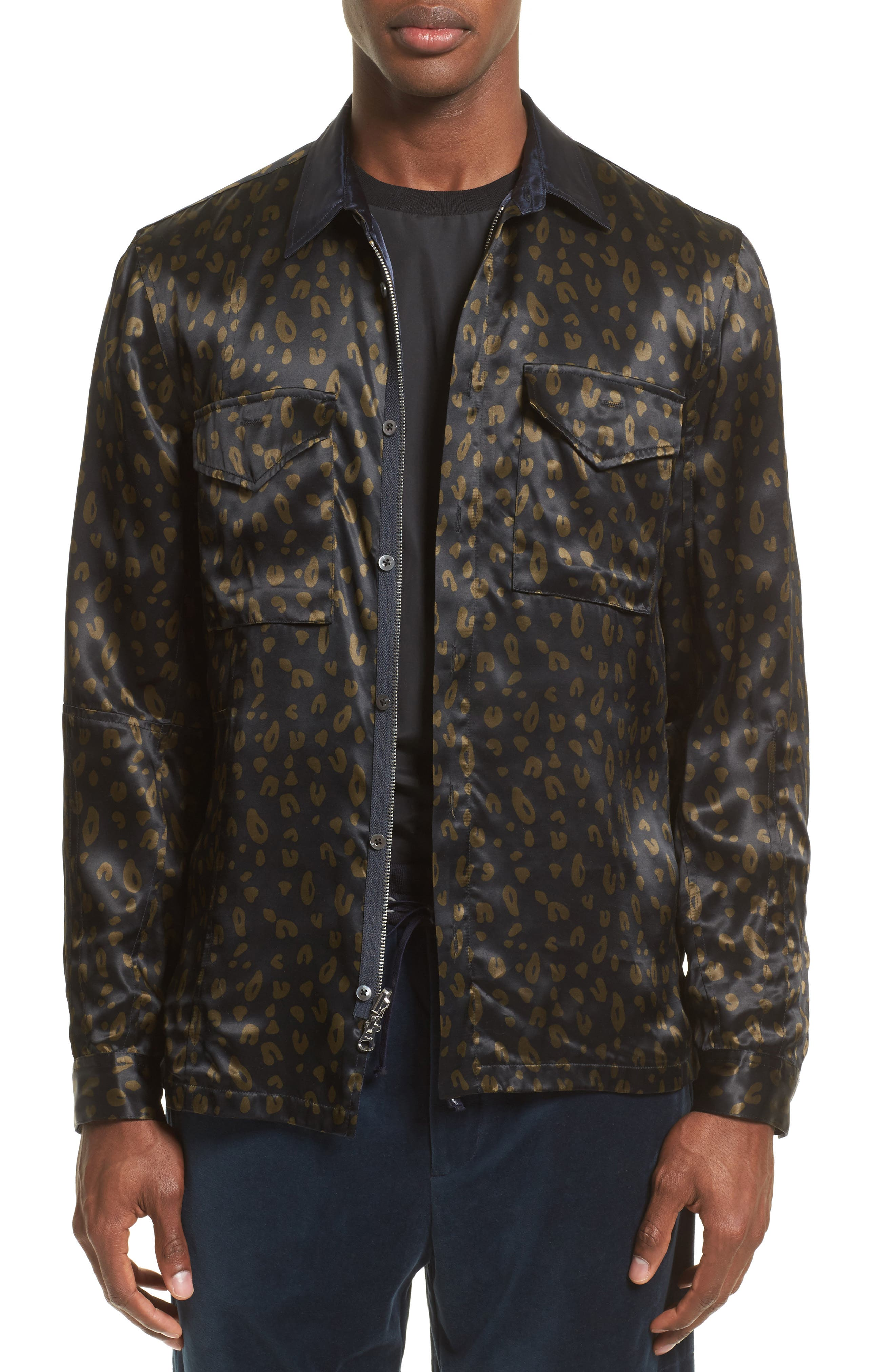 3.1 Phillip Lim Print Woven Jacket