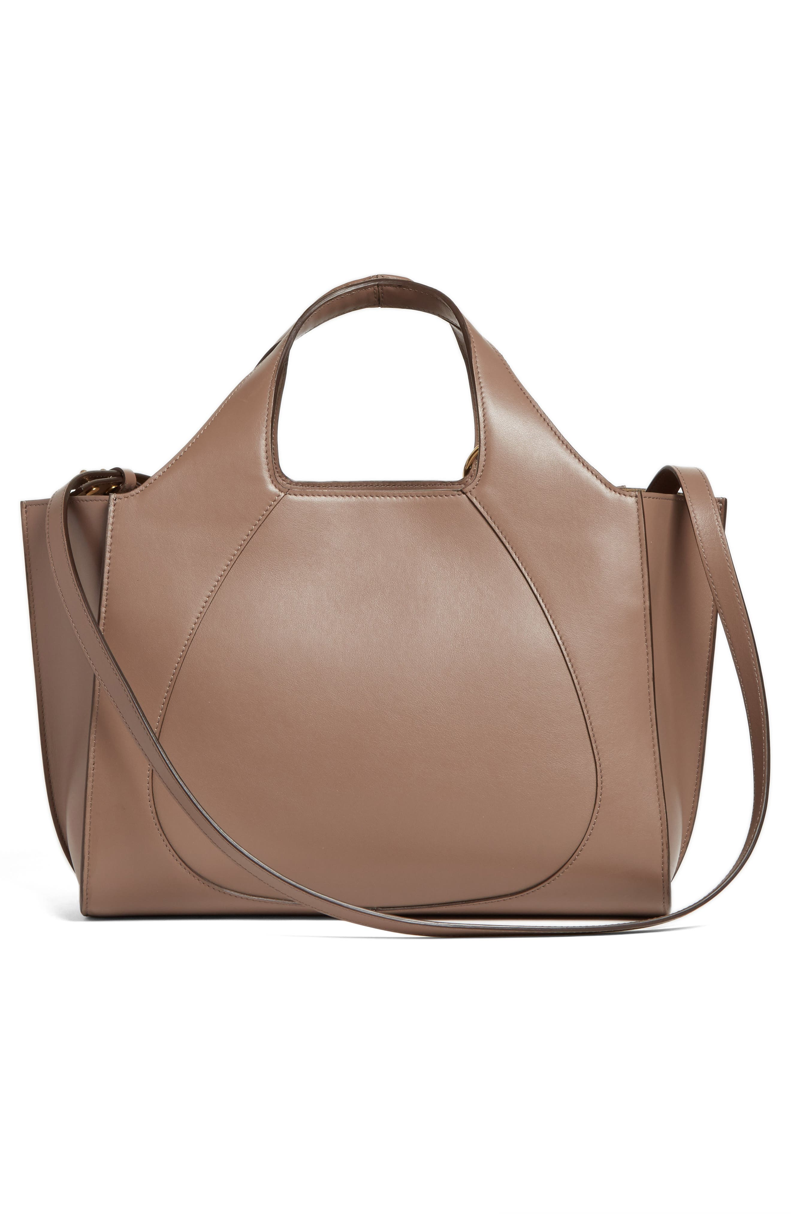 Alternate Image 3  - Victoria Beckham Small Newspaper Leather Tote