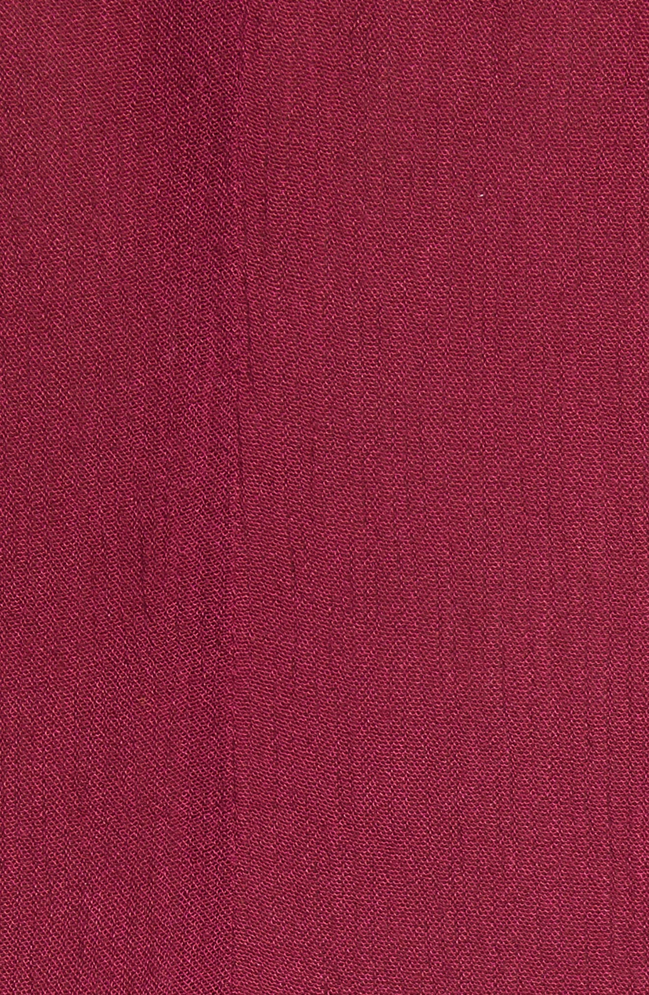 Delphine Embellished Slipdress,                             Alternate thumbnail 5, color,                             Plum