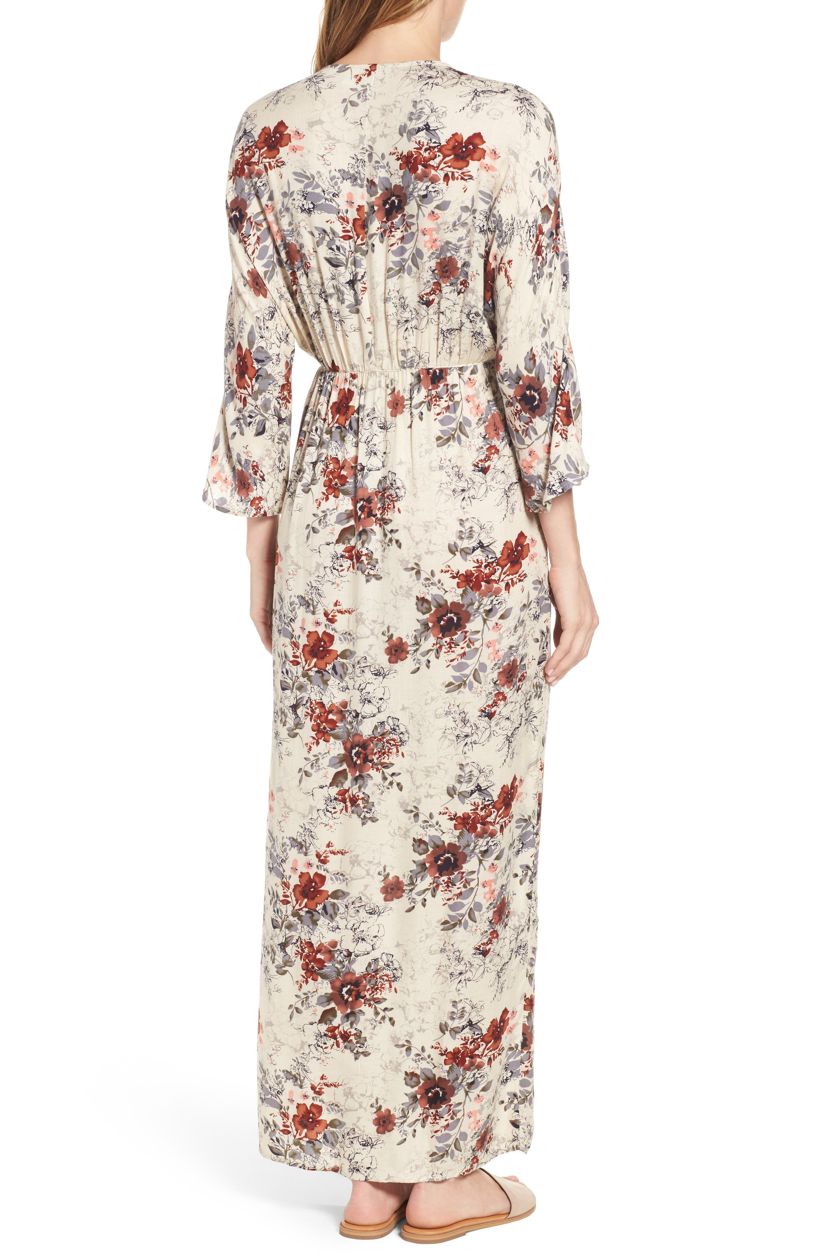 Alternate Image 2  - Hinge Blouson Maxi Dress