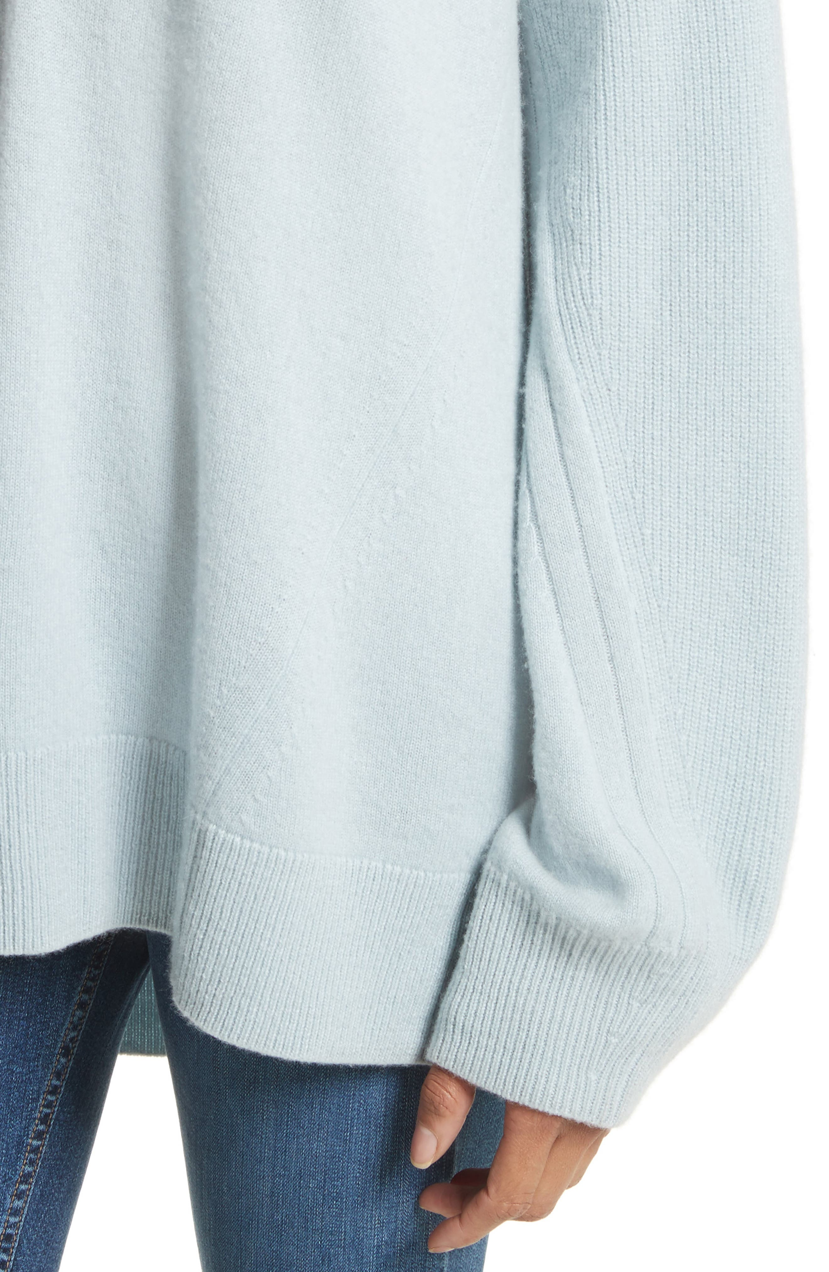 Alternate Image 4  - rag & bone Ace Cashmere Sweater