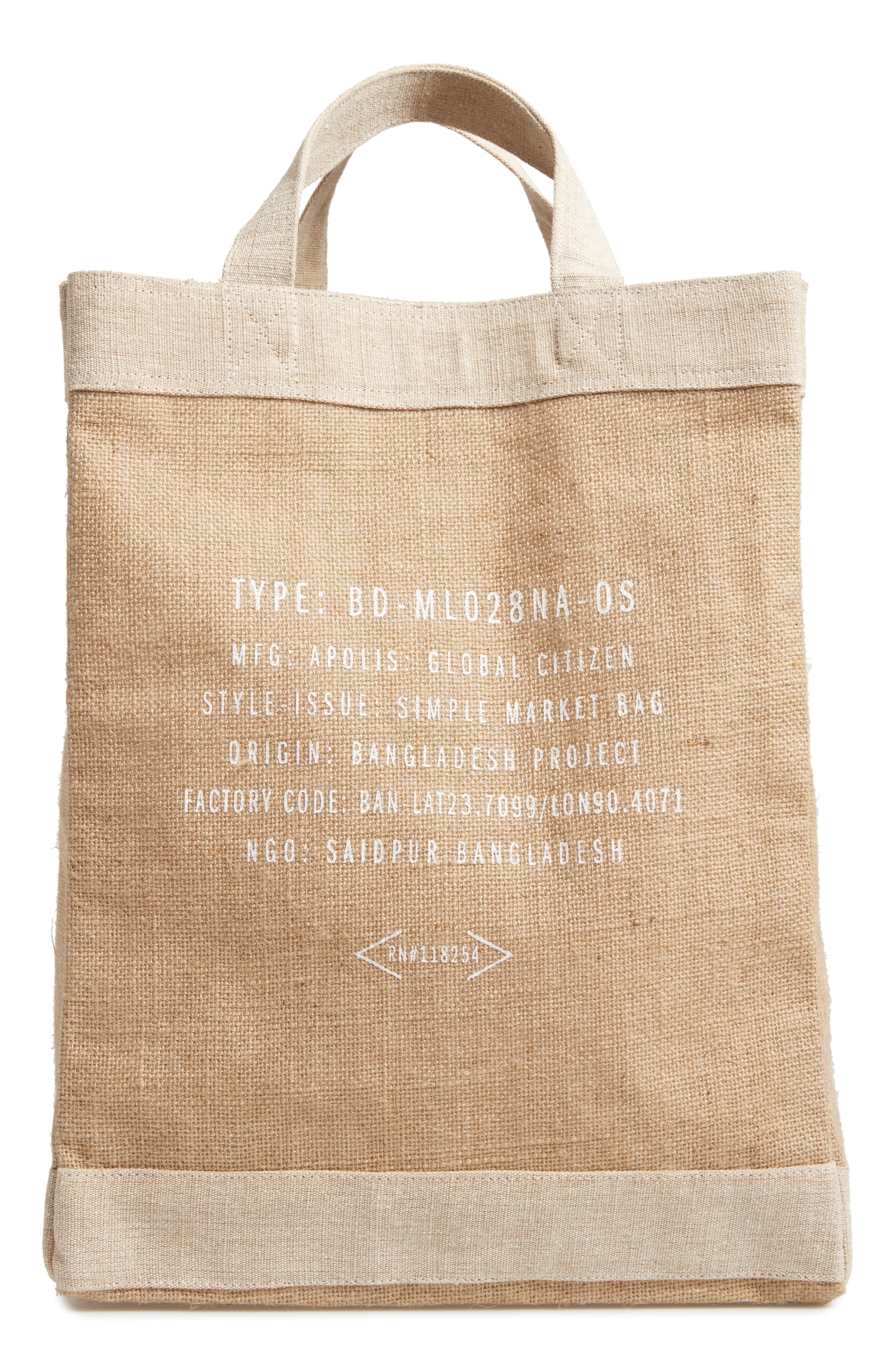 Alternate Image 2  - Apolis Chicago Simple Market Bag
