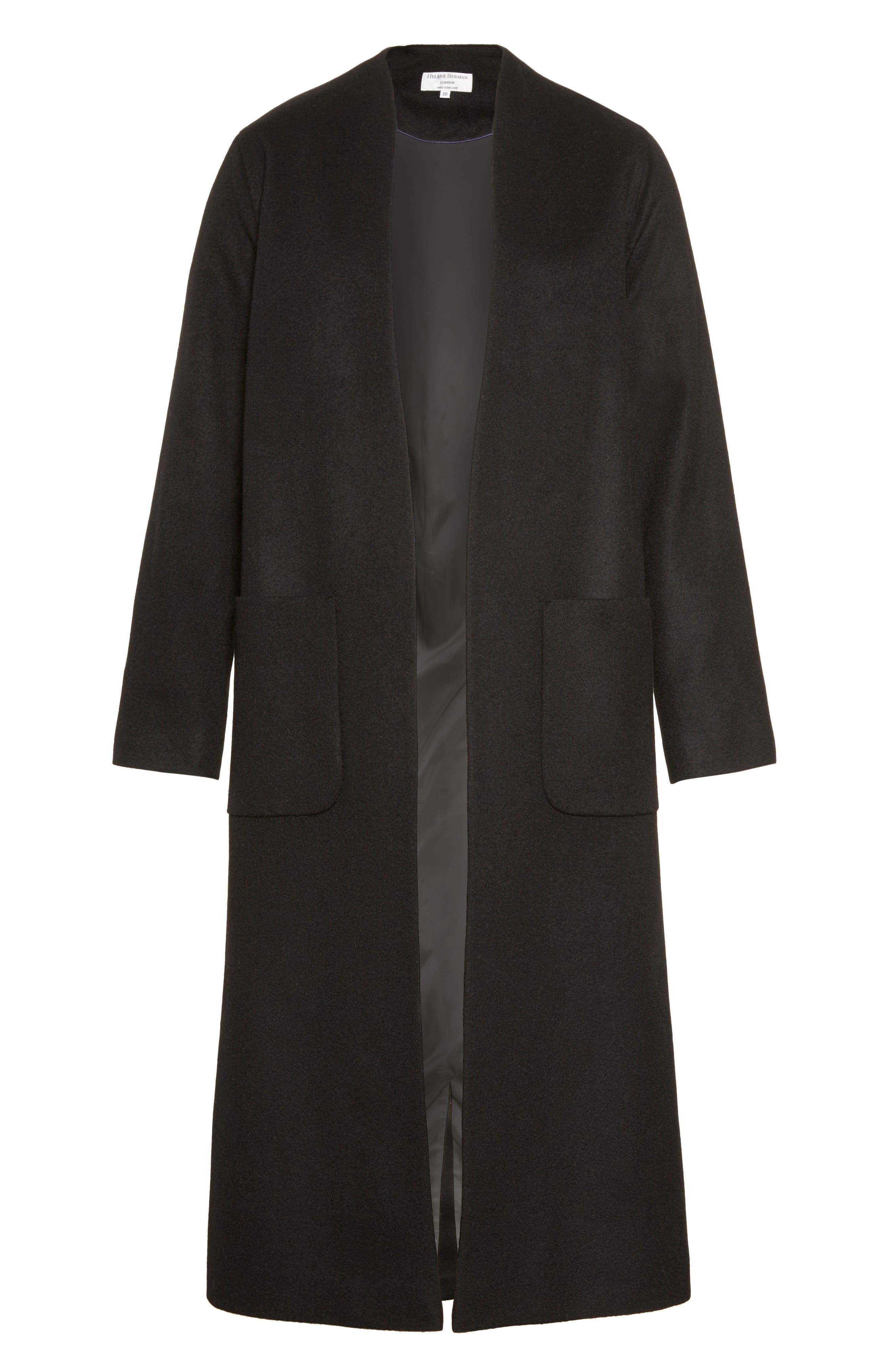 Alternate Image 6  - Helene Berman Wool & Cashmere Longline Coat