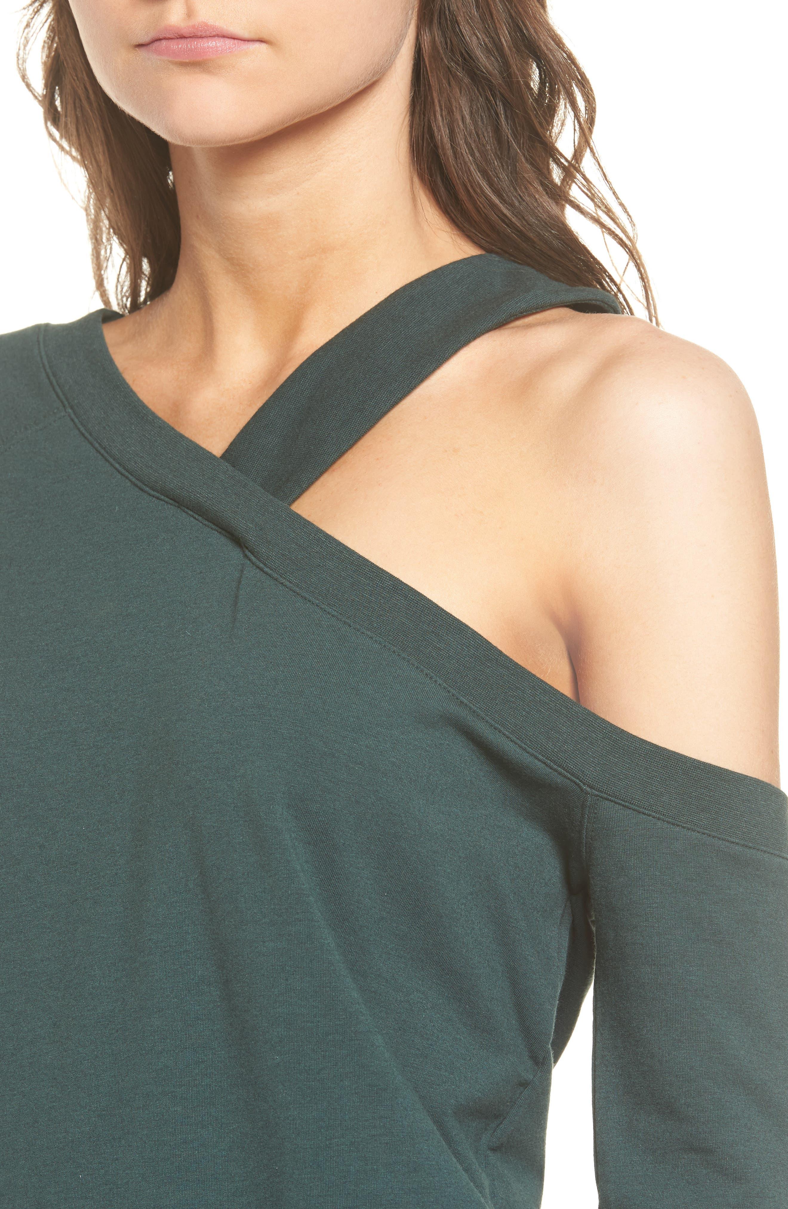 Alternate Image 5  - Treasure & Bond Asymmetrical Sweatshirt