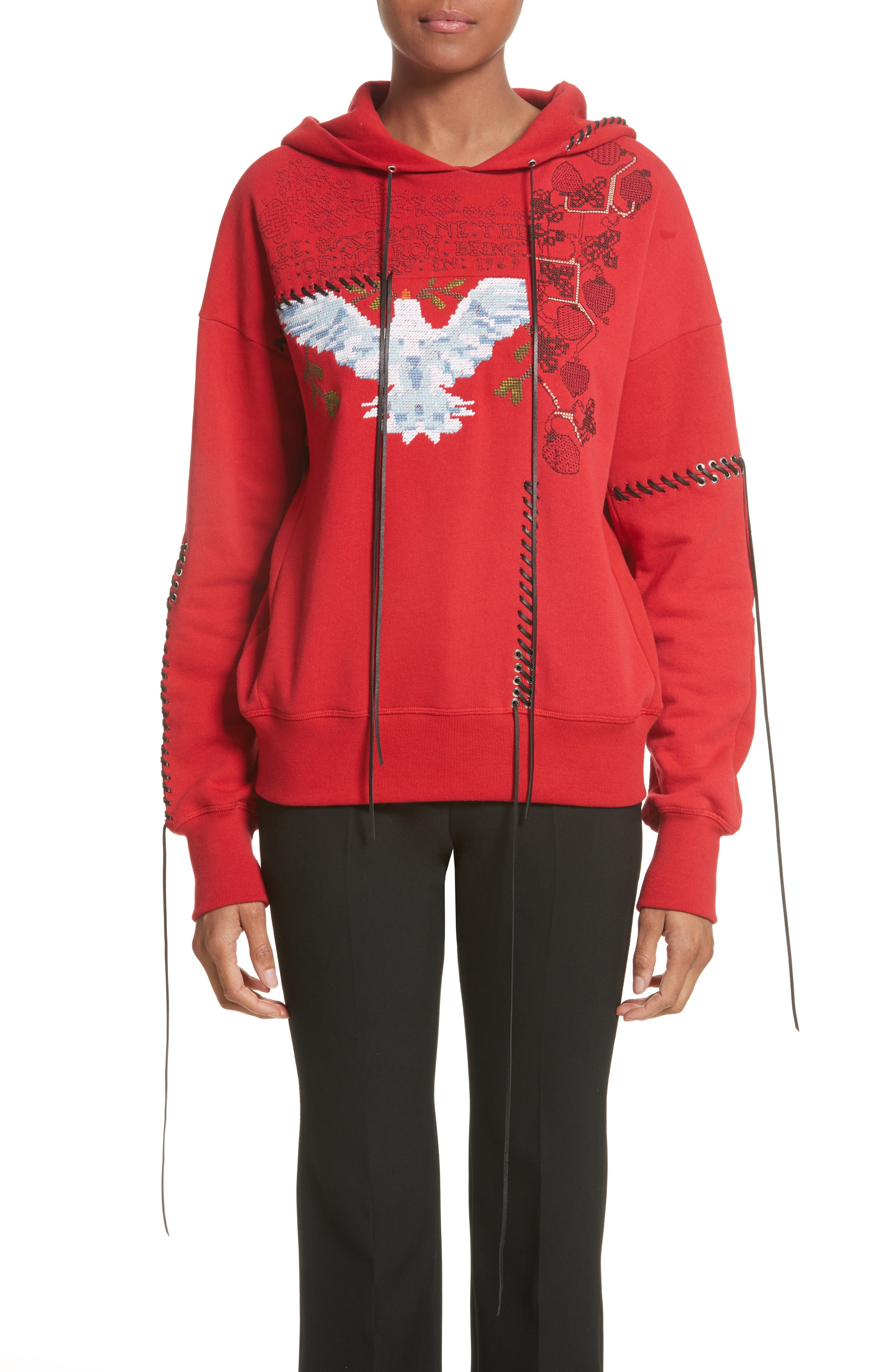 Alexander McQueen Embroidered Sweatshirt
