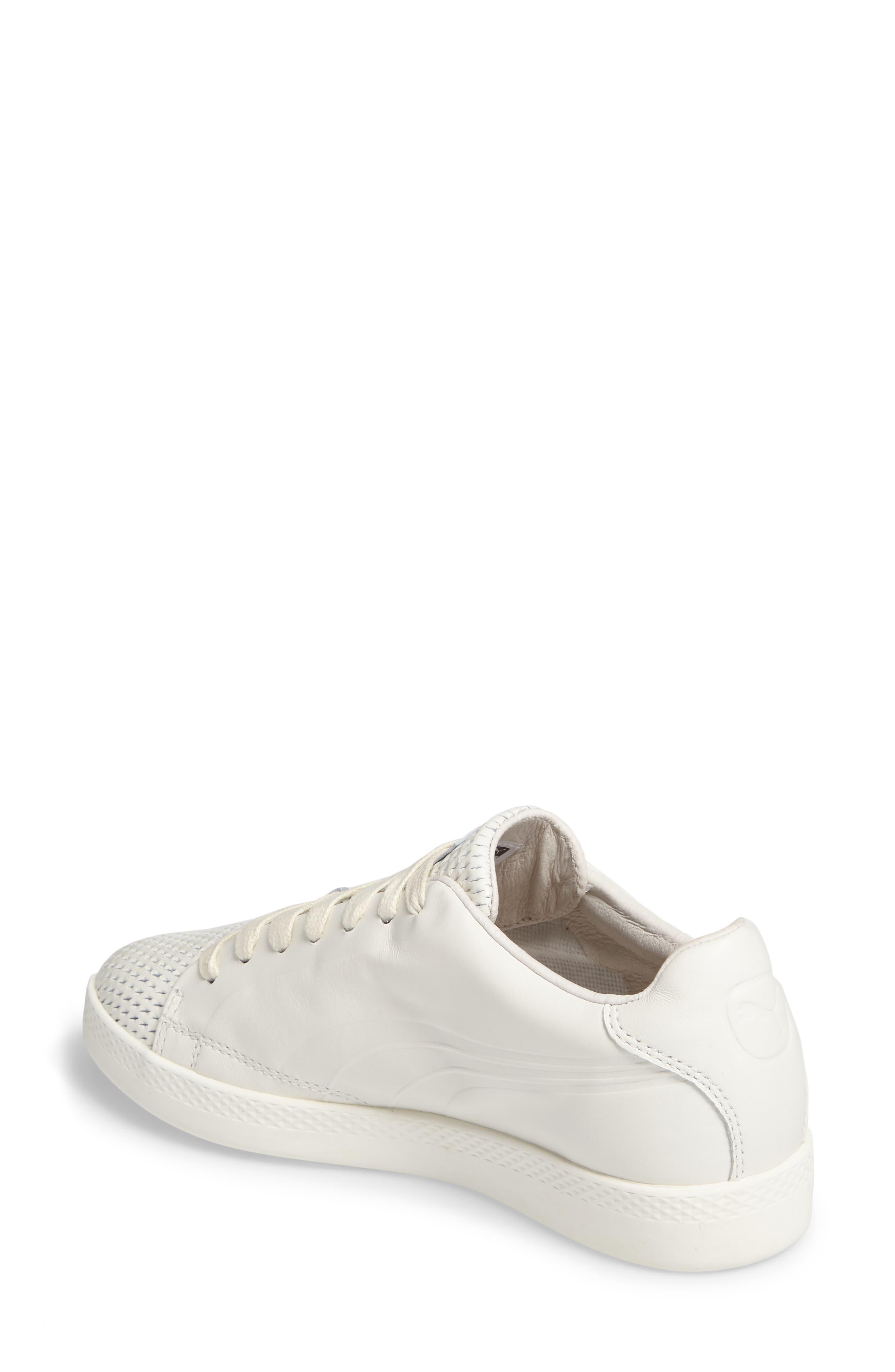 Match Lo Open Sneaker,                             Alternate thumbnail 2, color,                             Whisper White/ Whisper White