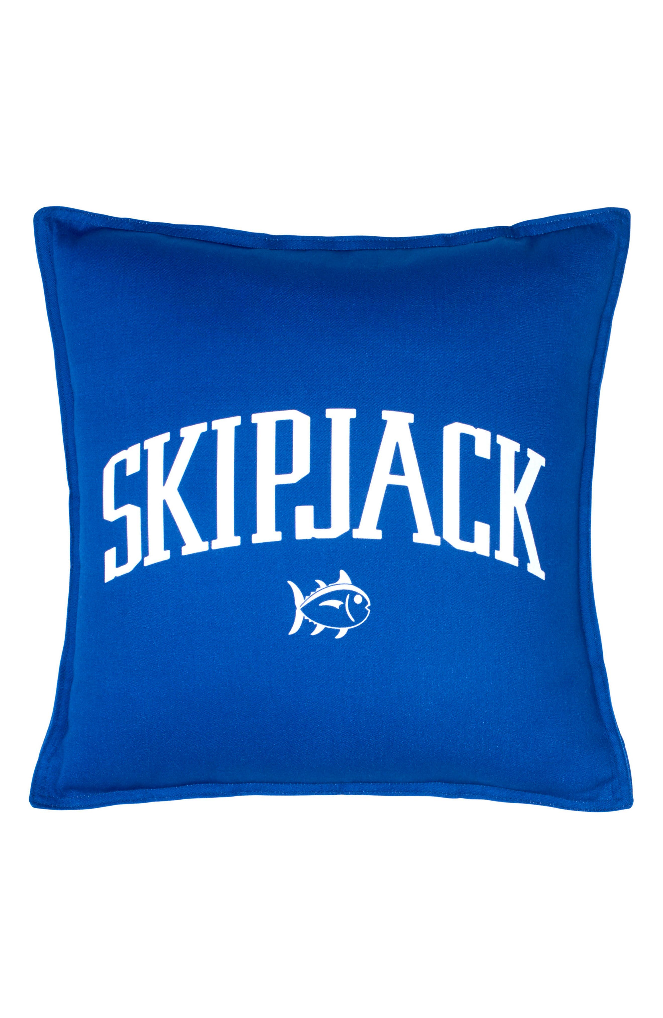 Chino Americana - Blue Cove Accent Pillow,                             Main thumbnail 1, color,                             Blue Cove
