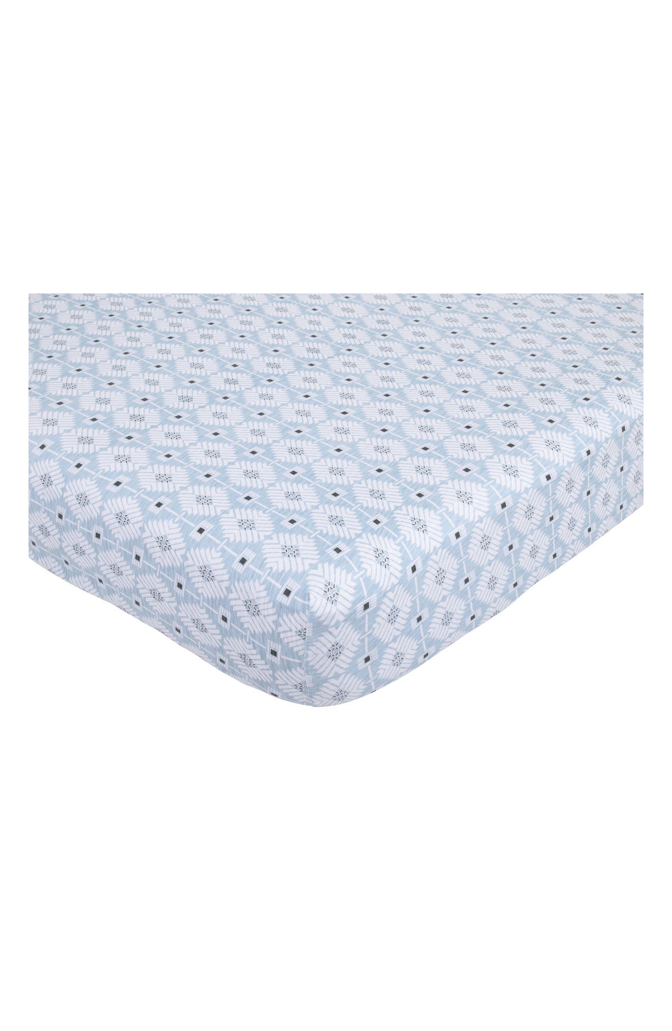 Alternate Image 1 Selected - Petunia Pickle Bottom Southwest Skies Fitted Sheet